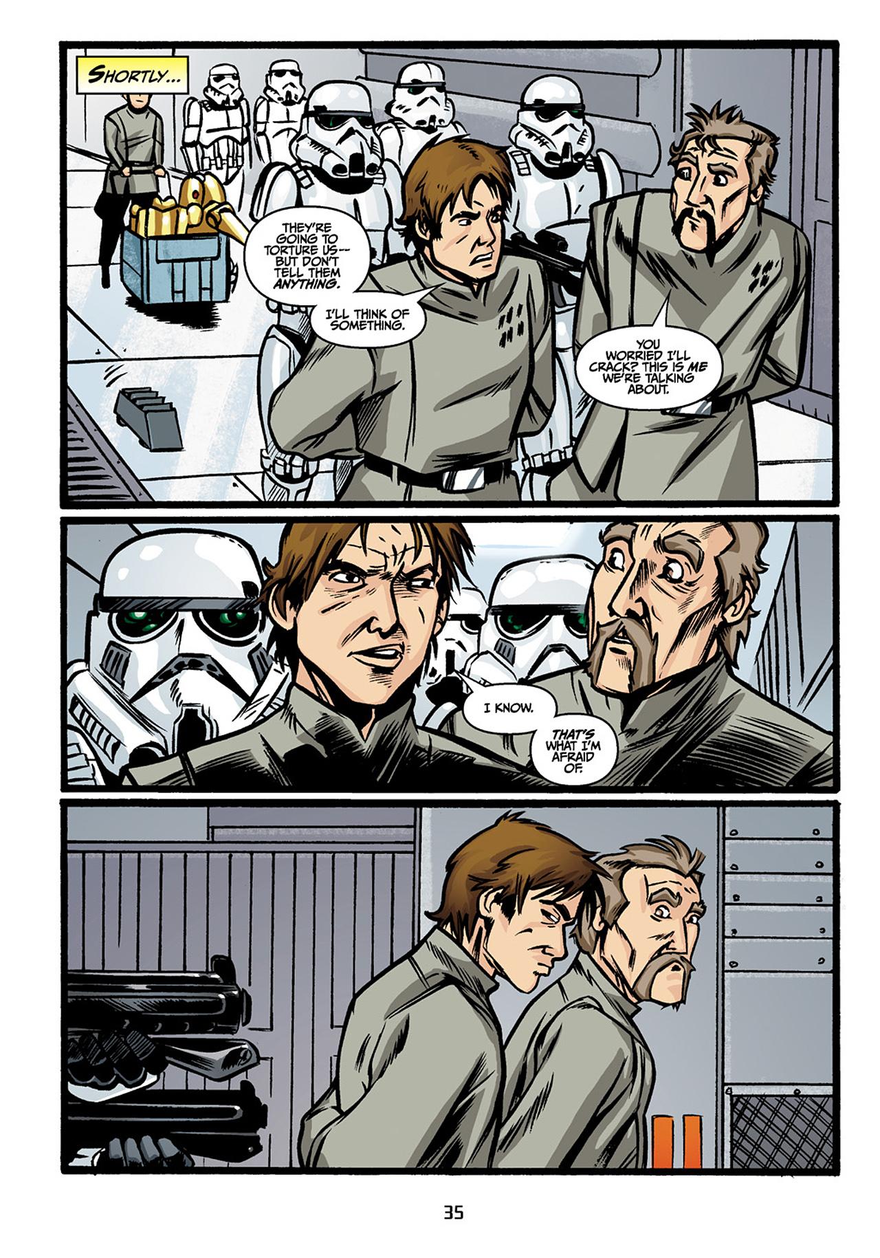 Read online Star Wars Omnibus comic -  Issue # Vol. 33 - 37