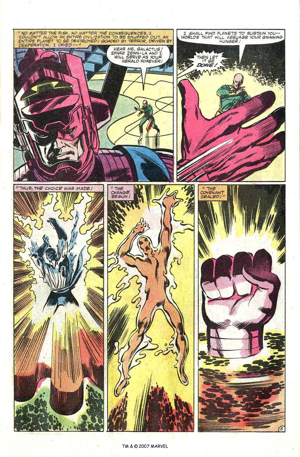 Read online Silver Surfer (1982) comic -  Issue # Full - 7