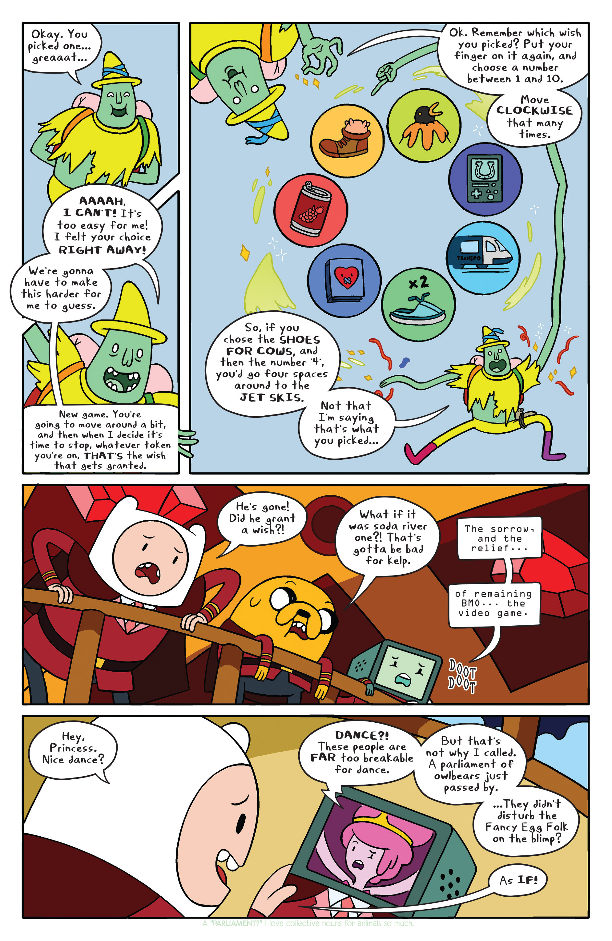 Read online Adventure Time comic -  Issue #40 - 9