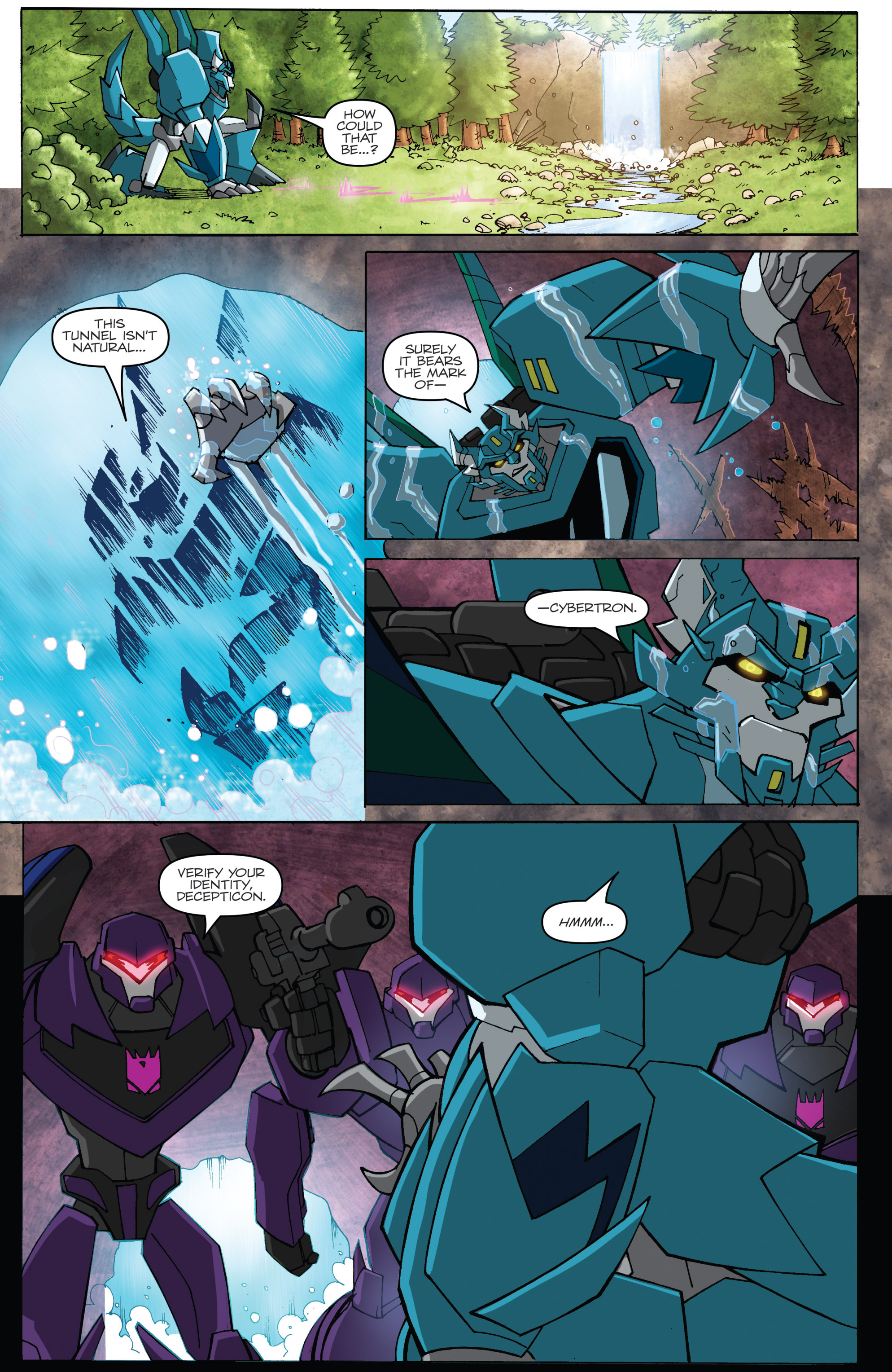 Read online Transformers: Robots In Disguise (2015) comic -  Issue #5 - 10