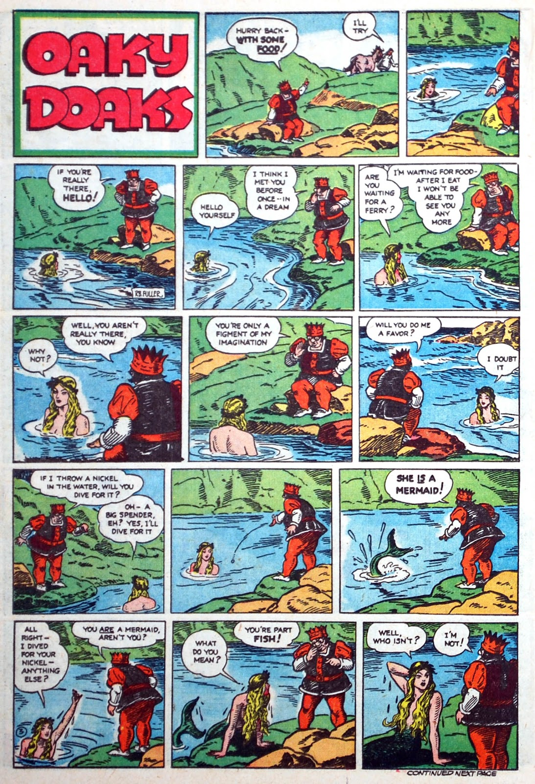 Read online Famous Funnies comic -  Issue #75 - 39