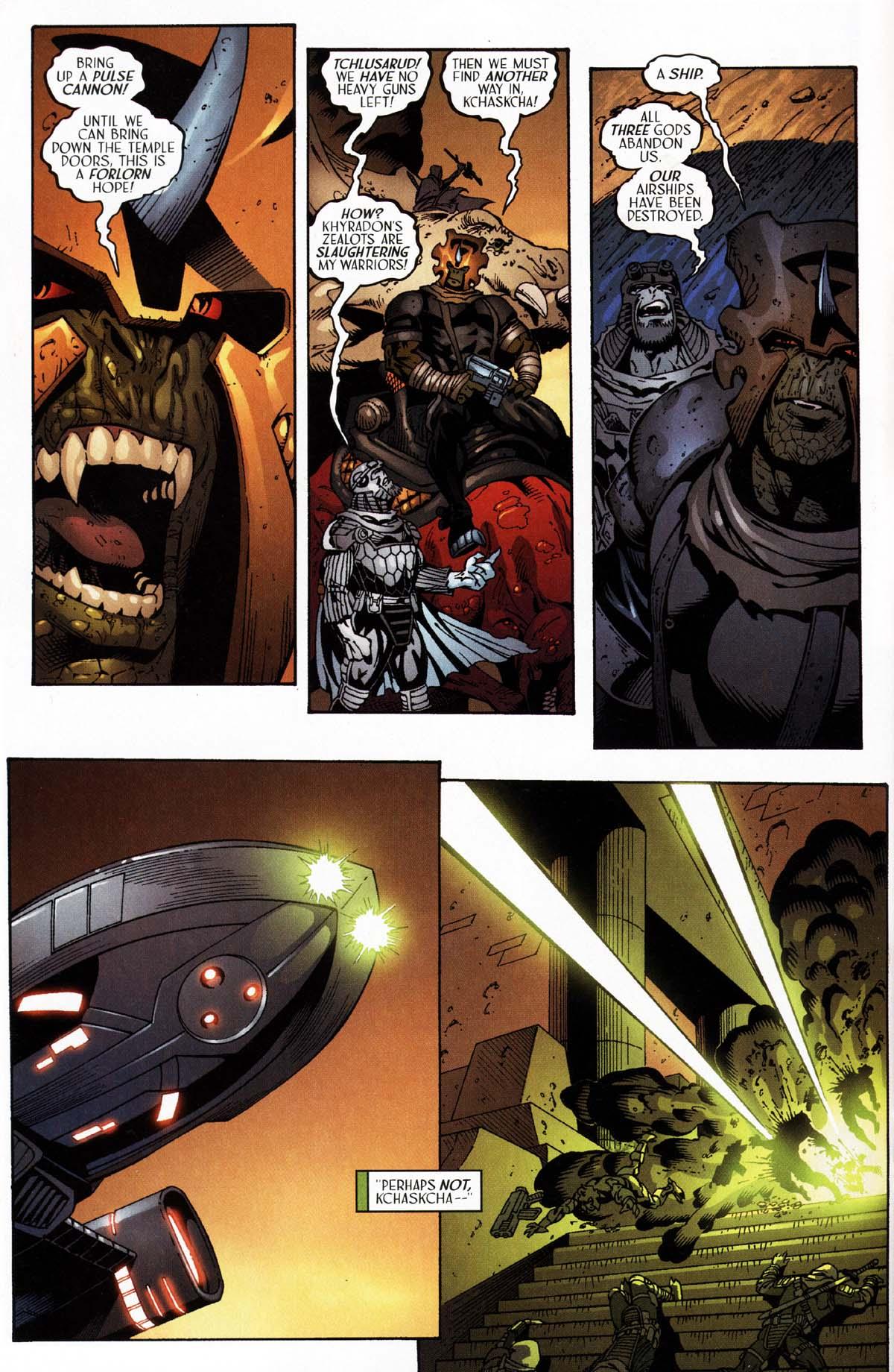 Read online Sigil (2000) comic -  Issue #27 - 16