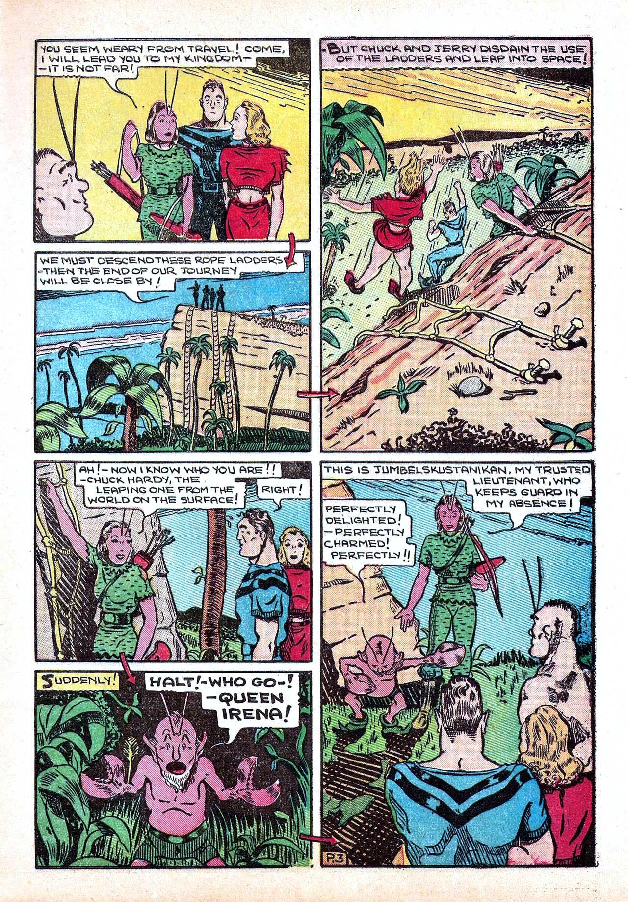 Read online Amazing Man Comics comic -  Issue #11 - 15