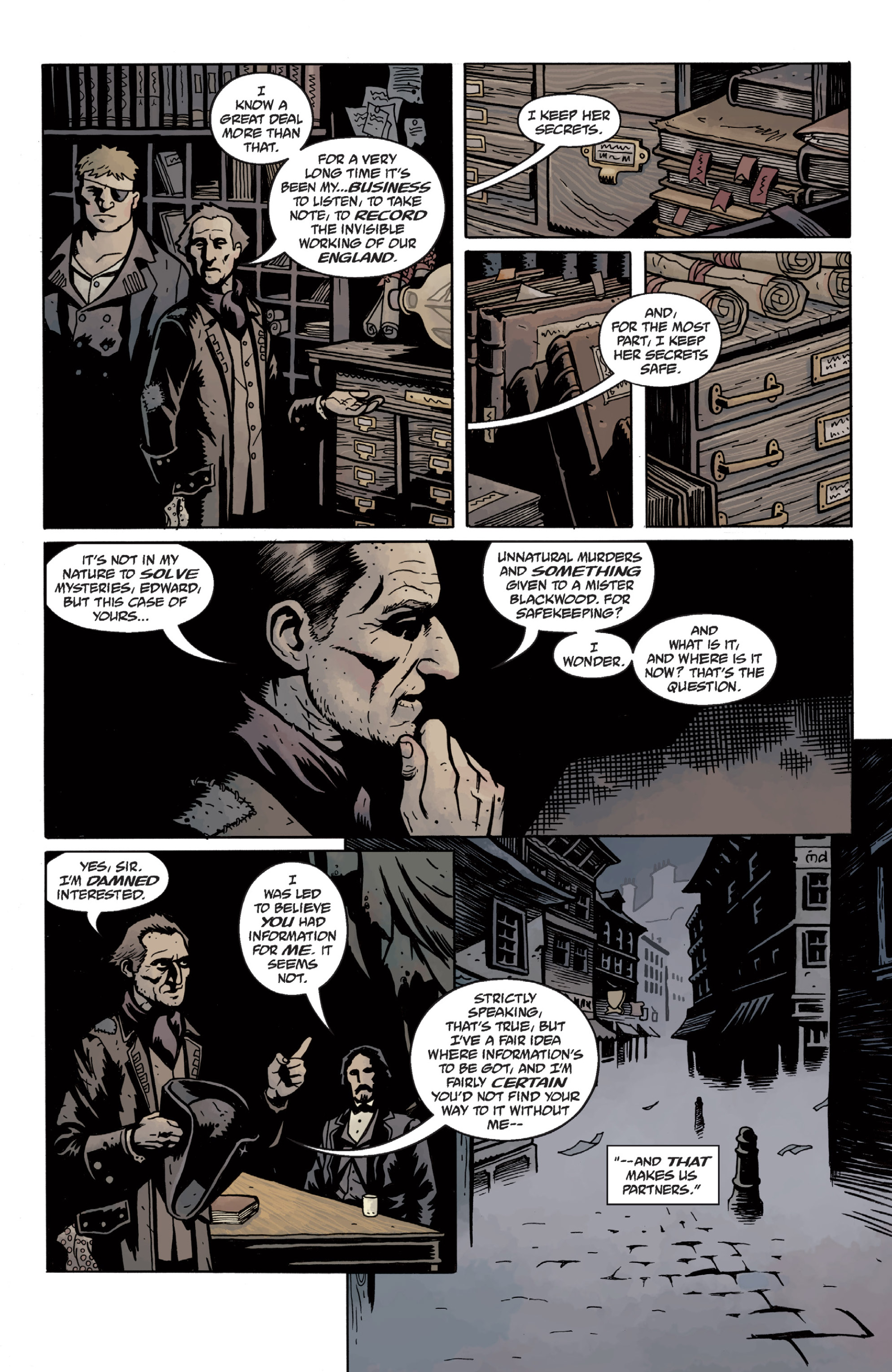 Read online Sir Edward Grey, Witchfinder: In the Service of Angels comic -  Issue # TPB - 38