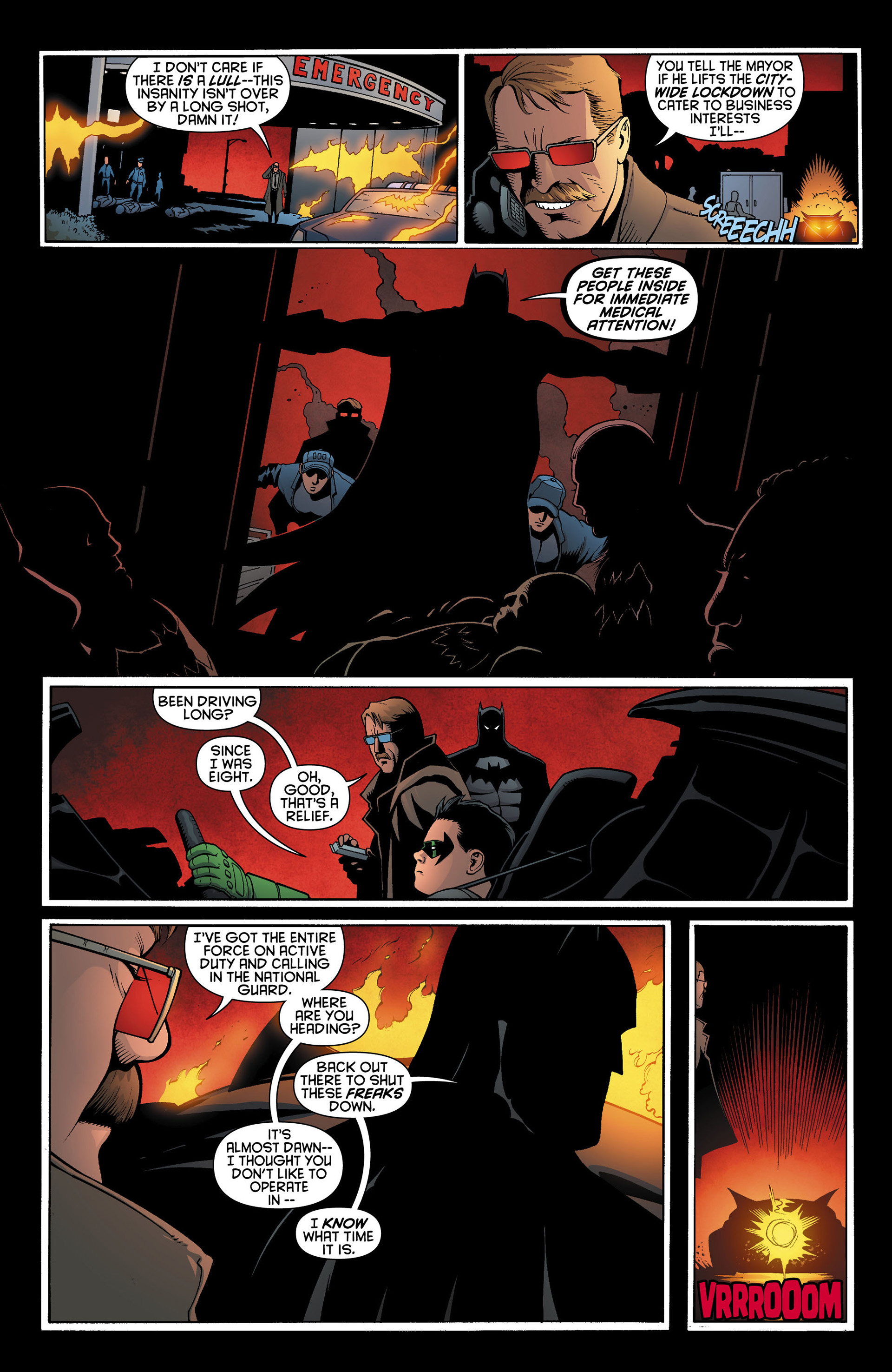 Read online Batman and Robin (2011) comic -  Issue #11 - 16