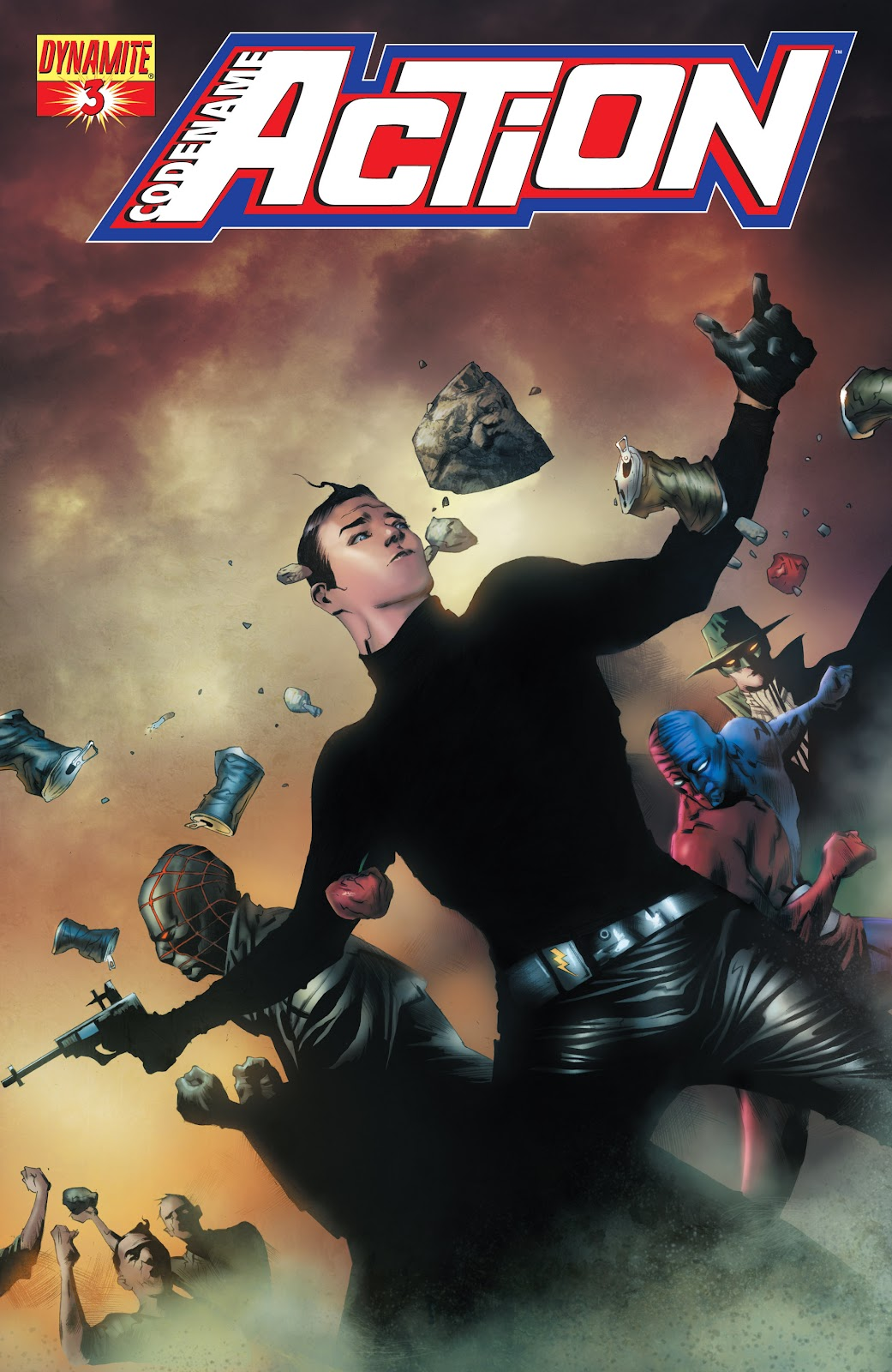 Read online Codename: Action comic -  Issue #3 - 1