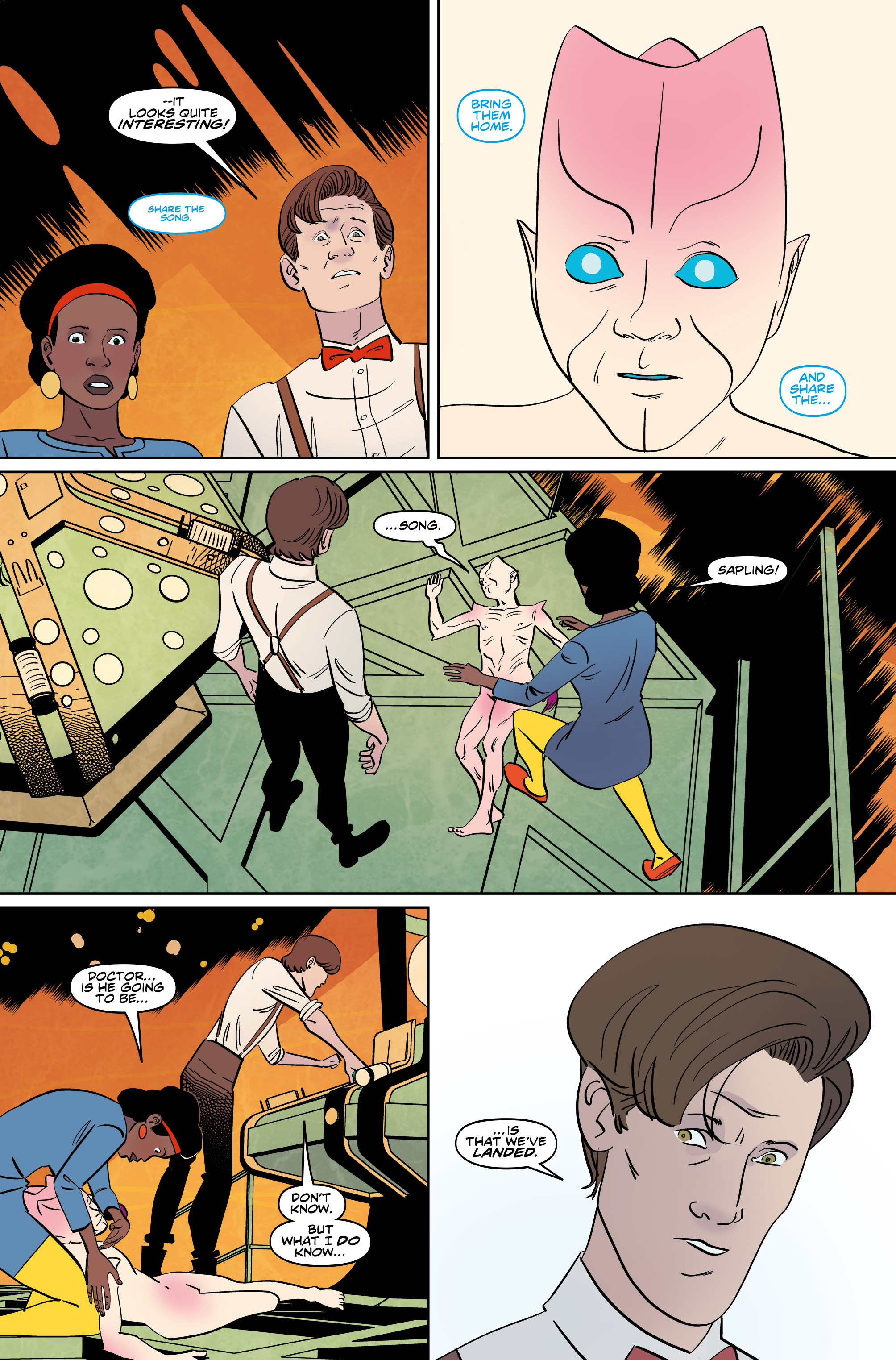 Read online Doctor Who: The Eleventh Doctor Year Three comic -  Issue #5 - 7