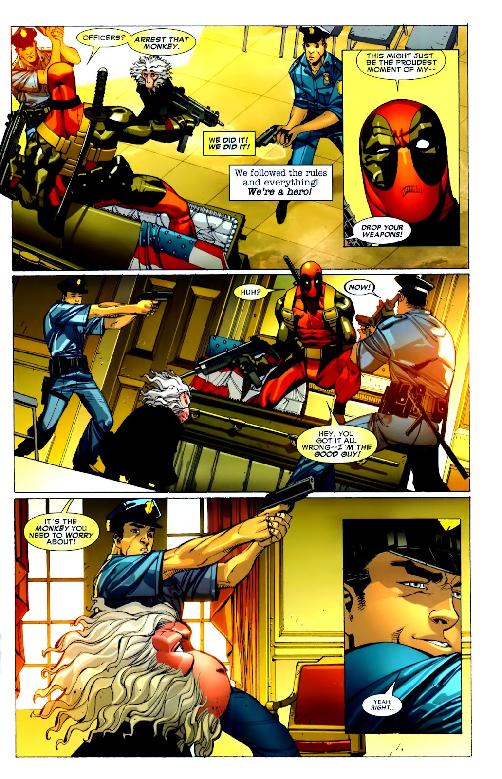 Read online Deadpool (2008) comic -  Issue #21 - 14