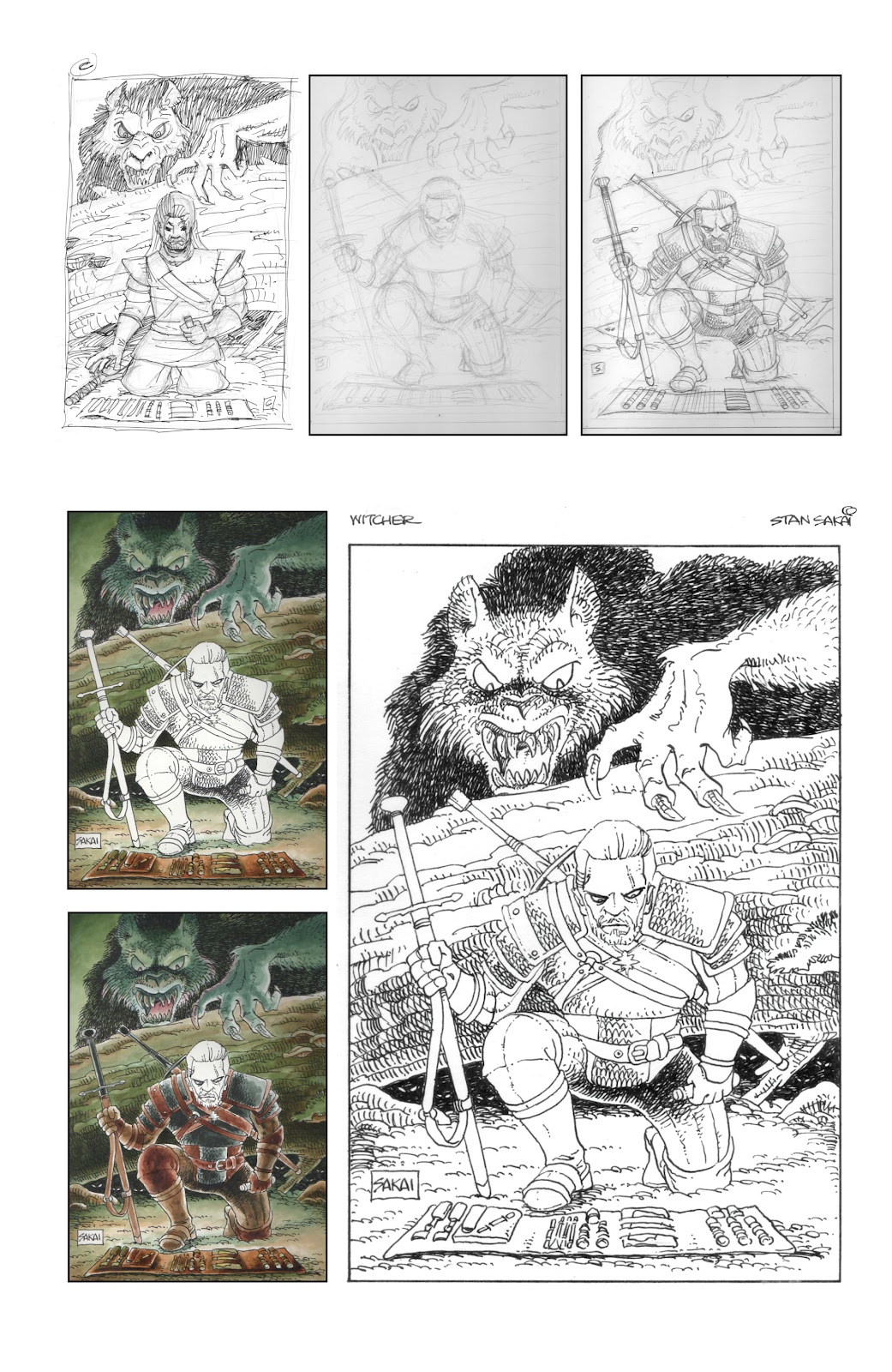 Read online The Witcher Omnibus comic -  Issue # TPB (Part 5) - 28