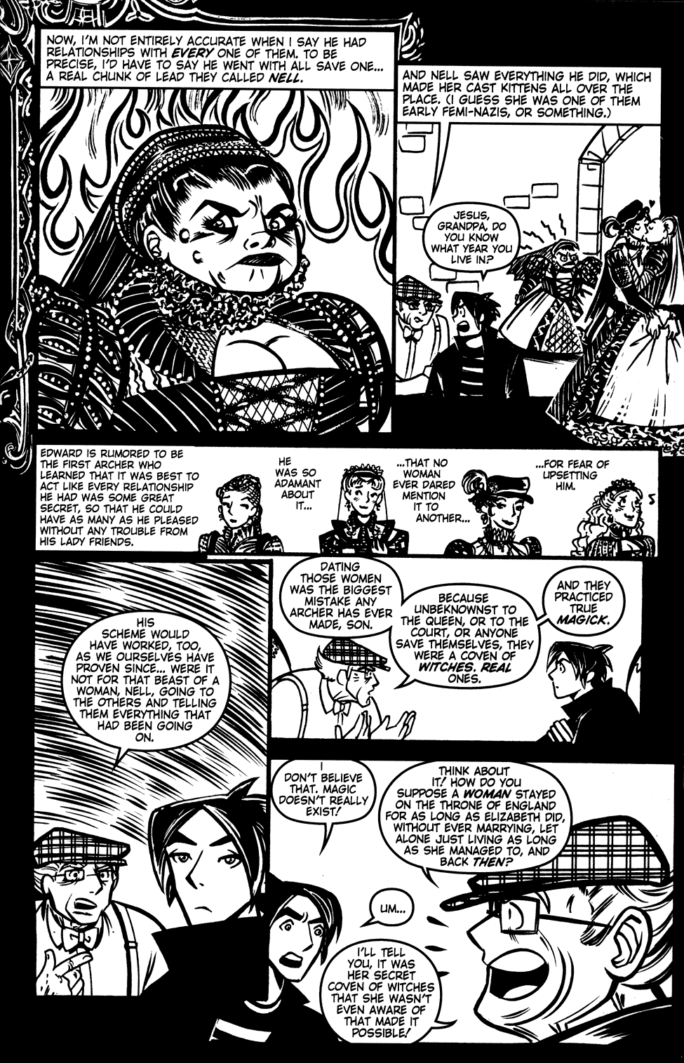Read online Scooter Girl comic -  Issue #3 - 21