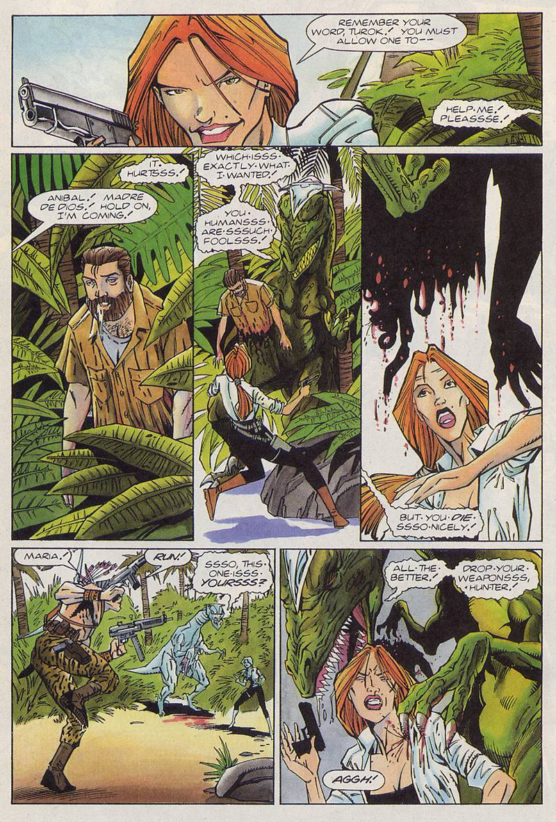 Read online Turok, Dinosaur Hunter (1993) comic -  Issue #3 - 15