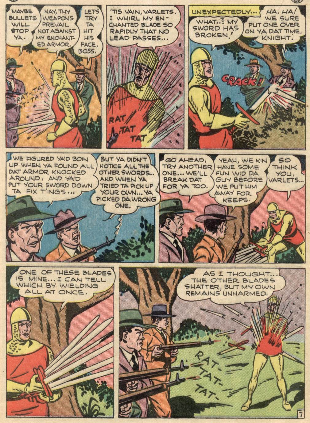 Read online Adventure Comics (1938) comic -  Issue #100 - 28
