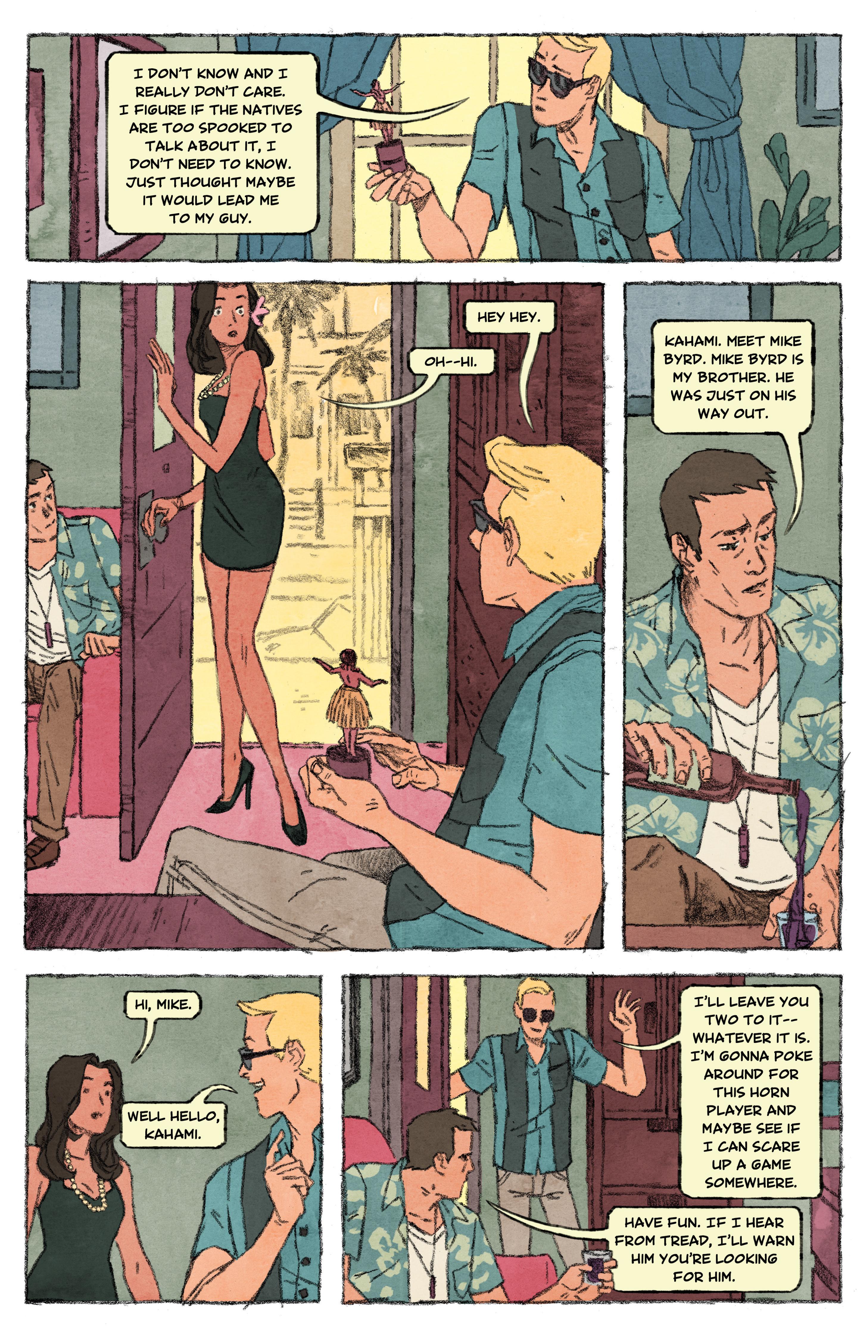 Read online Aloha, Hawaiian Dick comic -  Issue #4 - 5