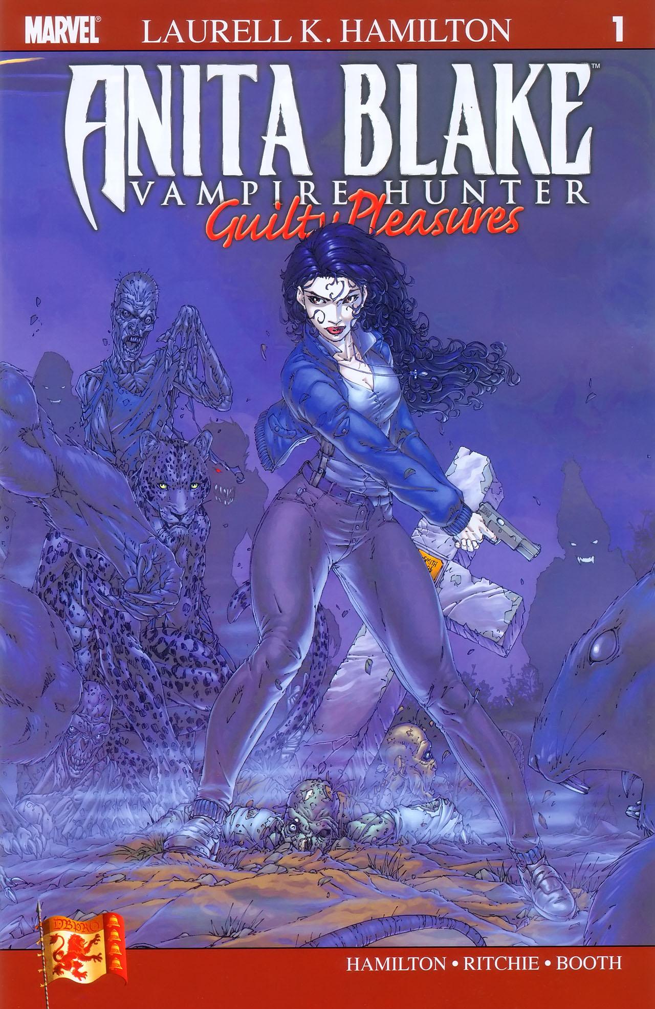 Read online Anita Blake, Vampire Hunter: Guilty Pleasures comic -  Issue #1 - 2