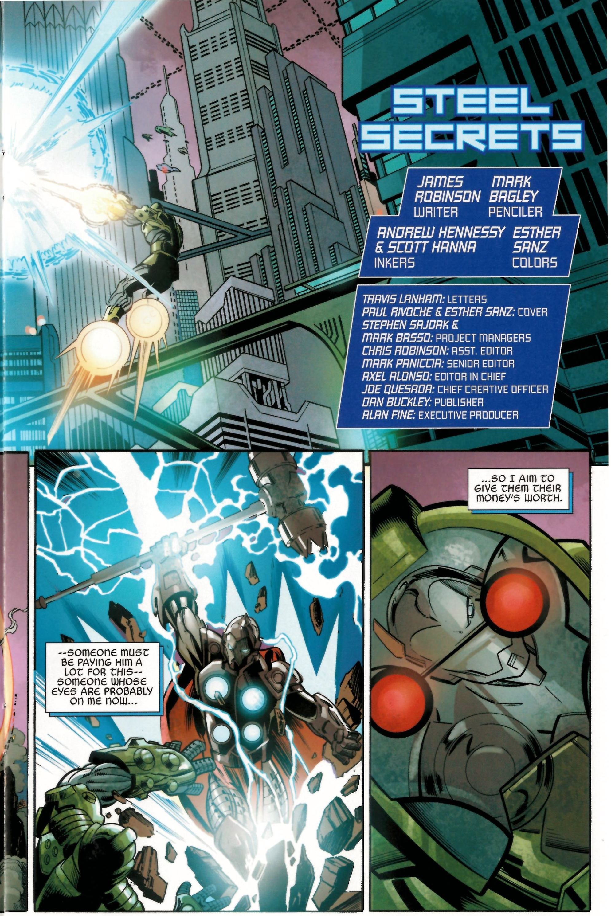 Read online Armor Wars comic -  Issue #0.5 - 4