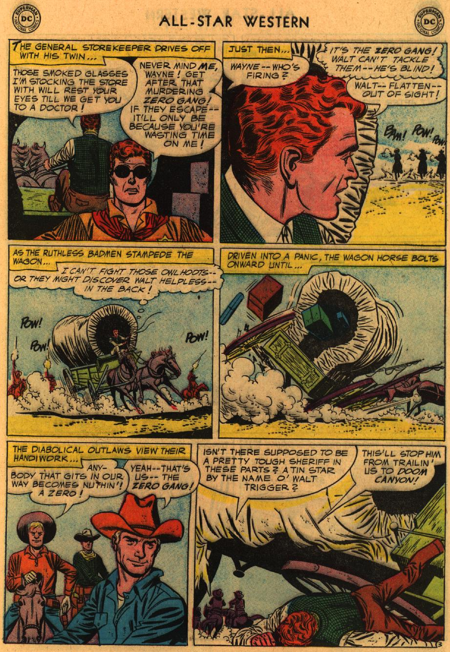 Read online All-Star Western (1951) comic -  Issue #98 - 5
