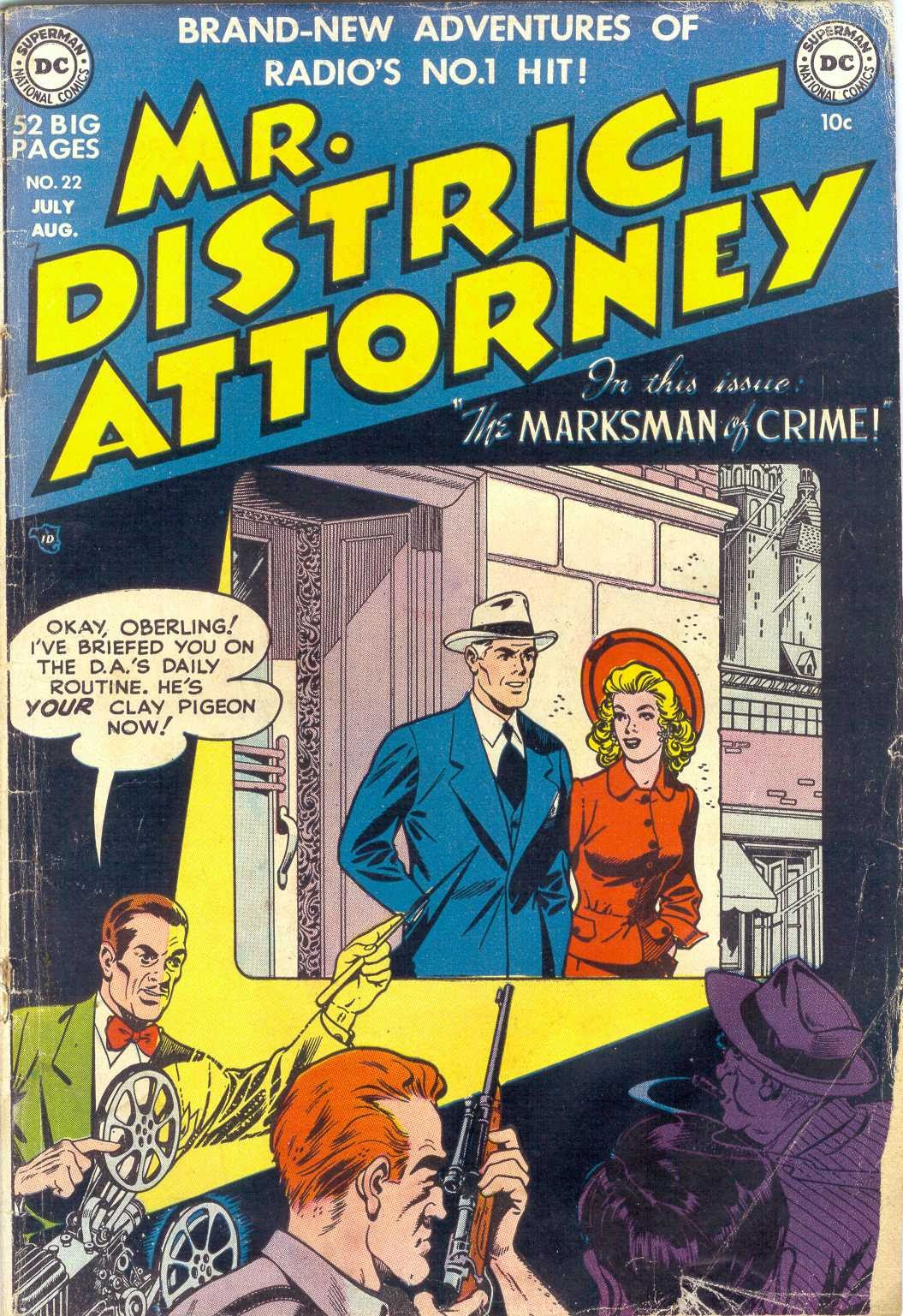 Mr. District Attorney issue 22 - Page 1