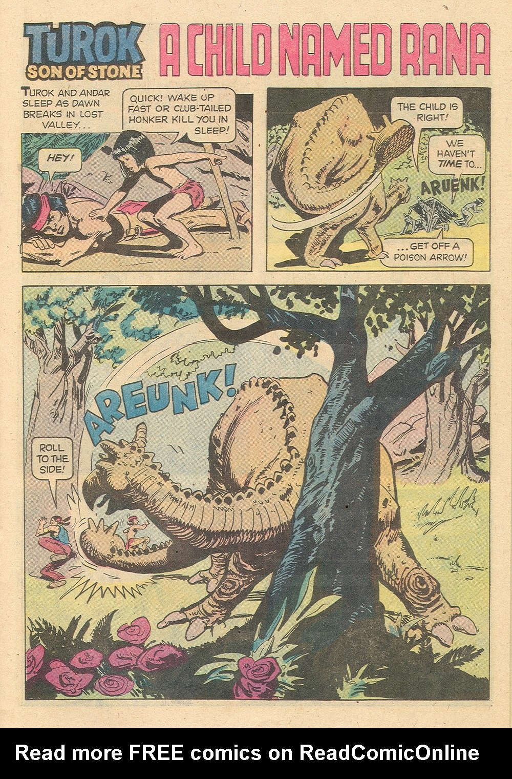 Read online Turok, Son of Stone comic -  Issue #129 - 15