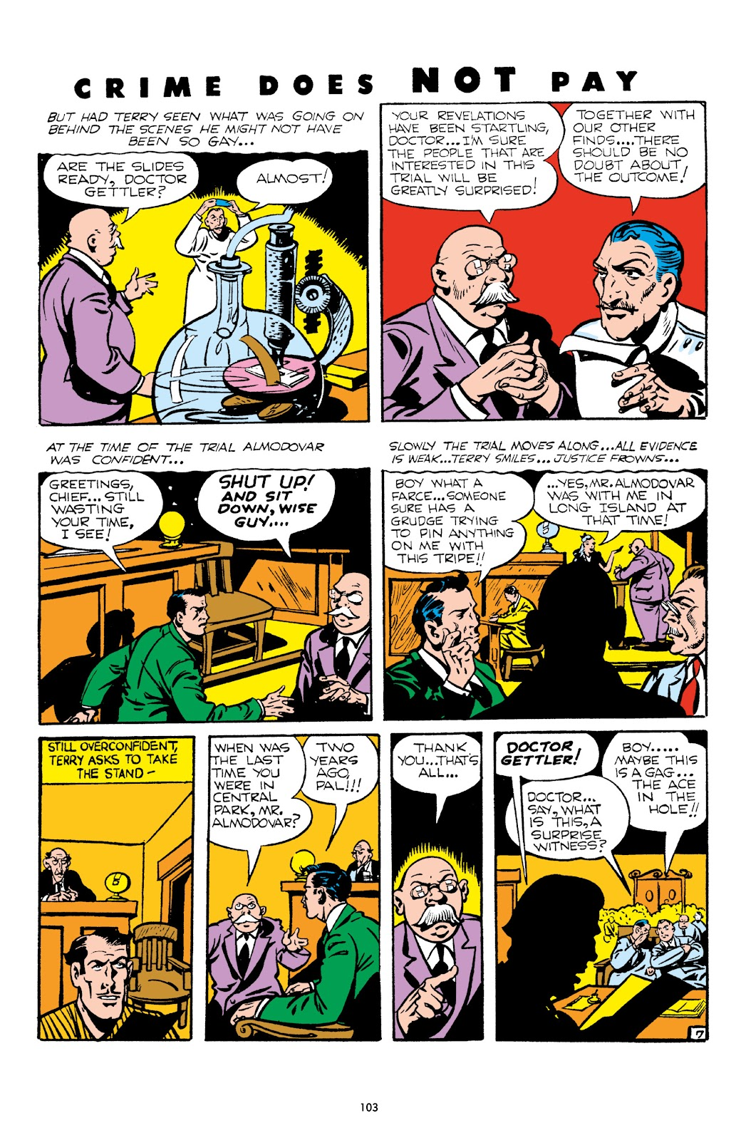 Read online Crime Does Not Pay Archives comic -  Issue # TPB 5 (Part 2) - 3