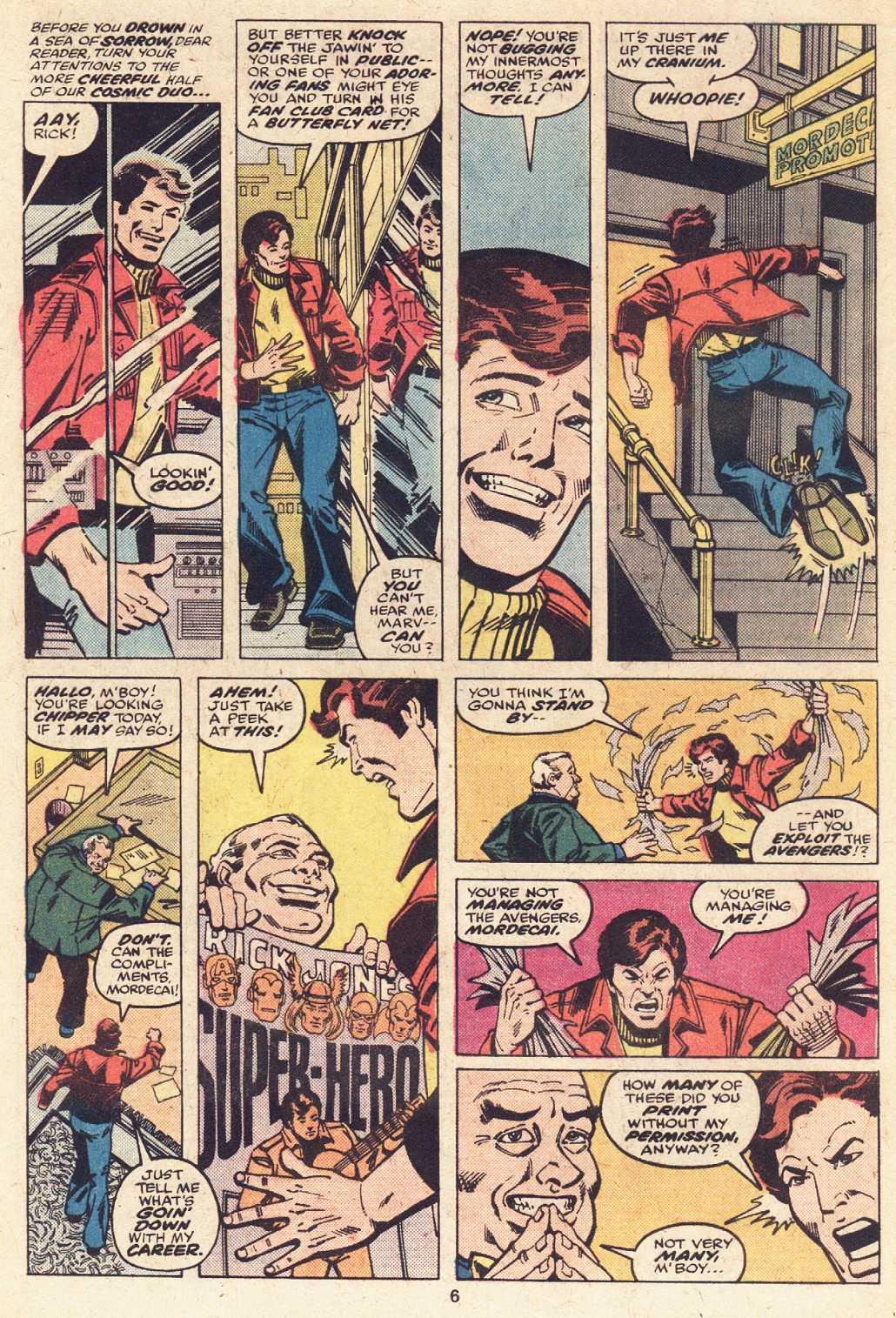 Captain Marvel (1968) issue 51 - Page 5