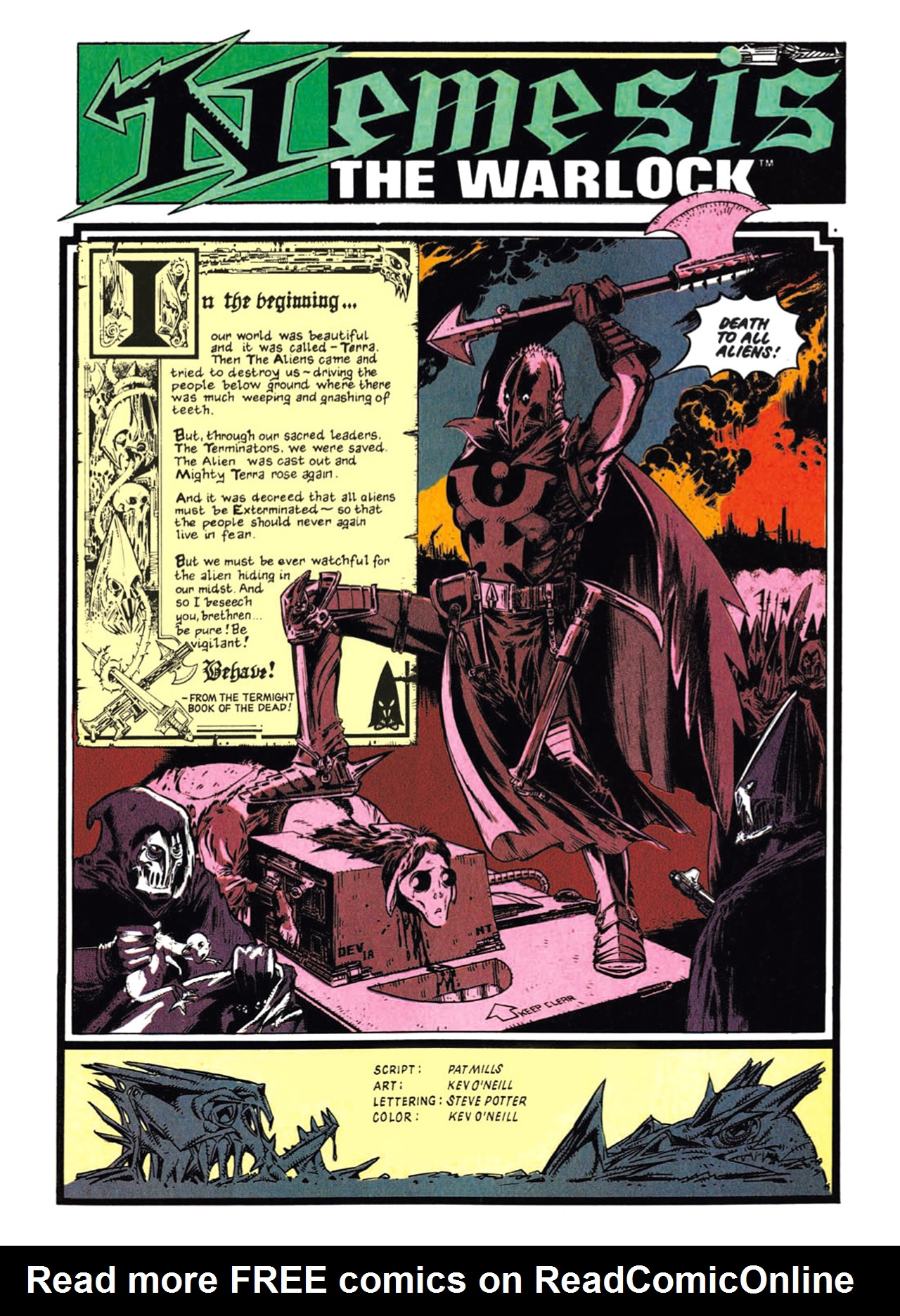 Read online Nemesis The Warlock comic -  Issue # TPB Deviant Edition - 19