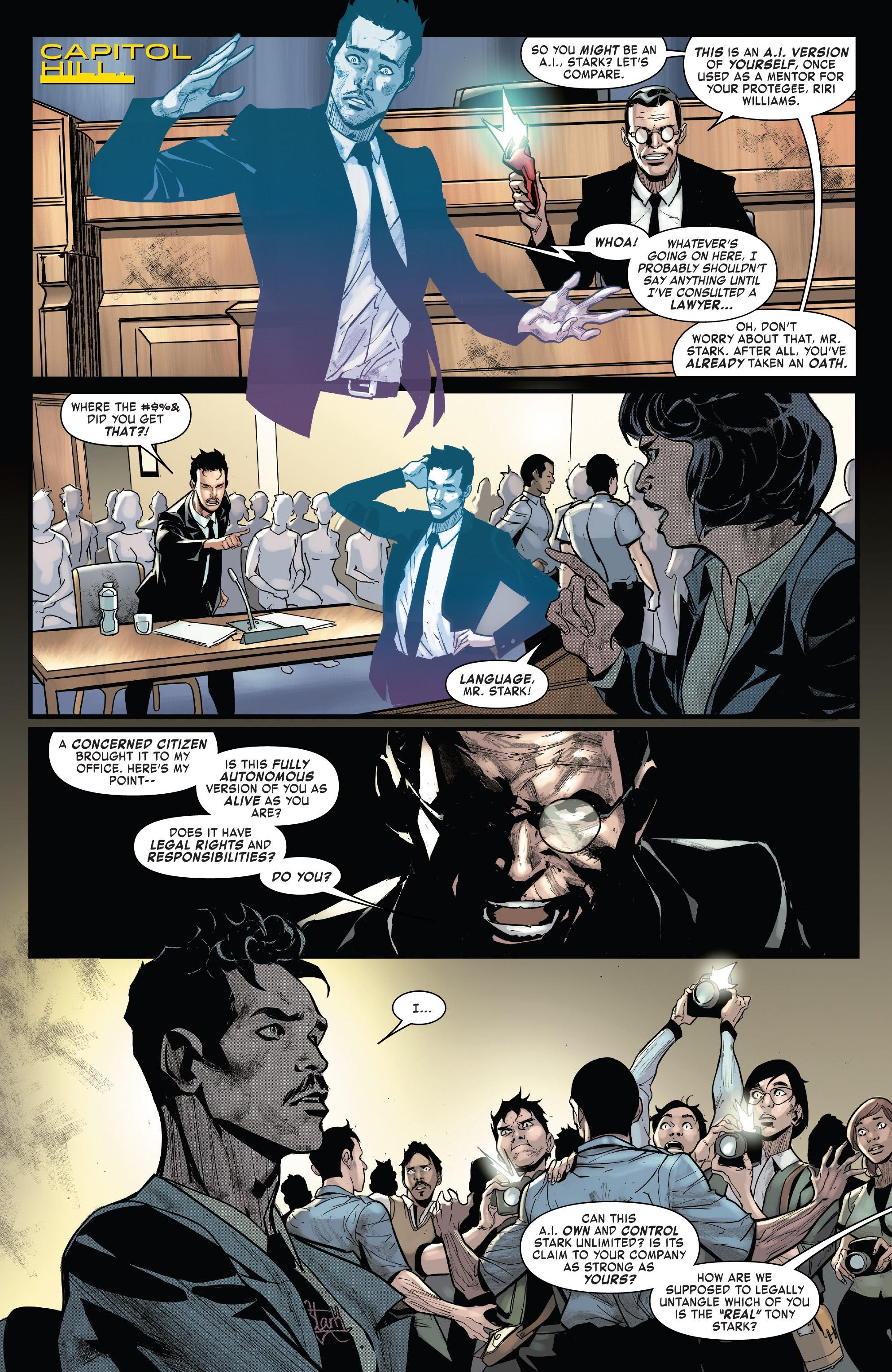 Read online Tony Stark: Iron Man comic -  Issue #15 - 7