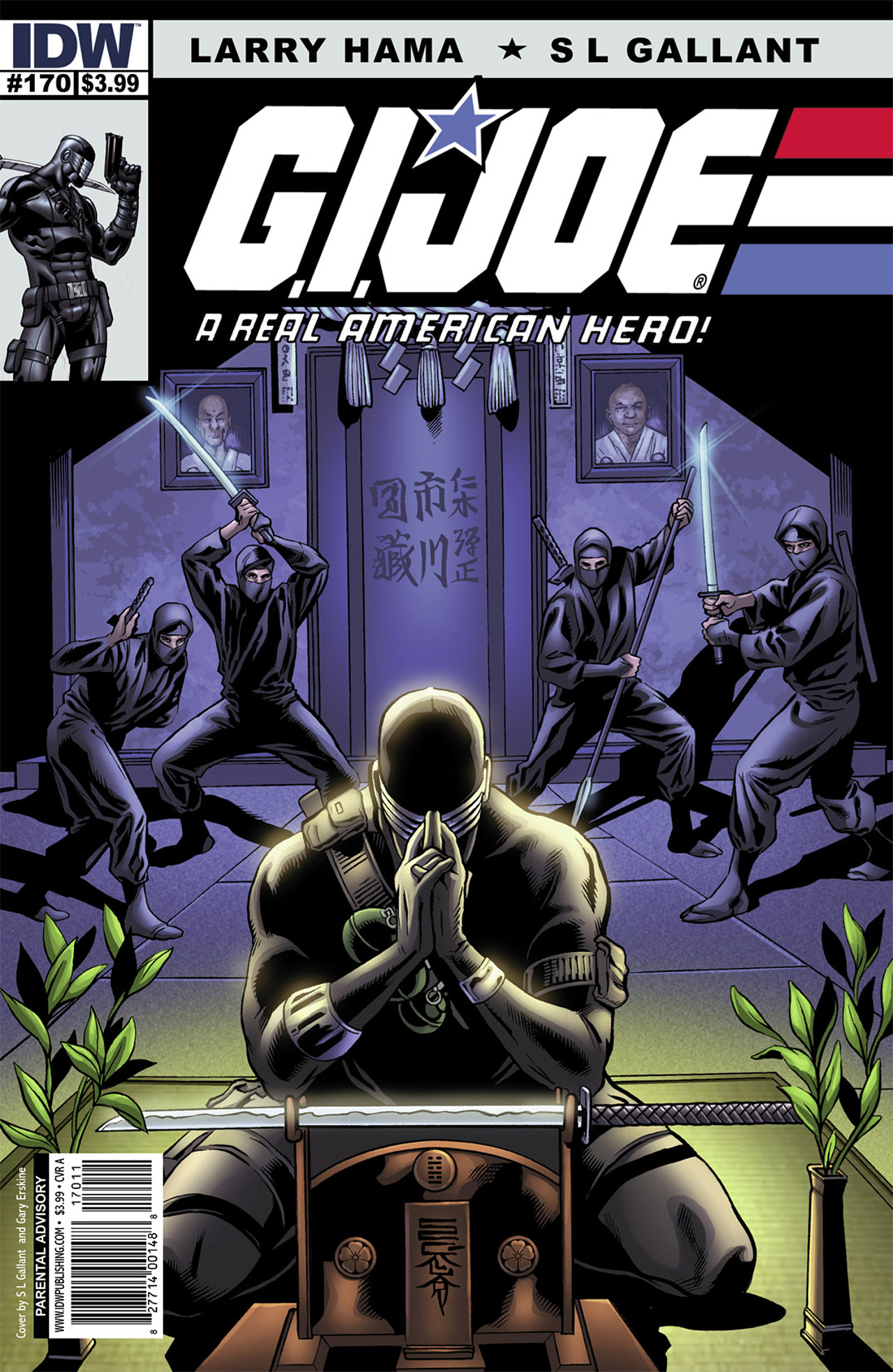G.I. Joe: A Real American Hero 170 Page 1