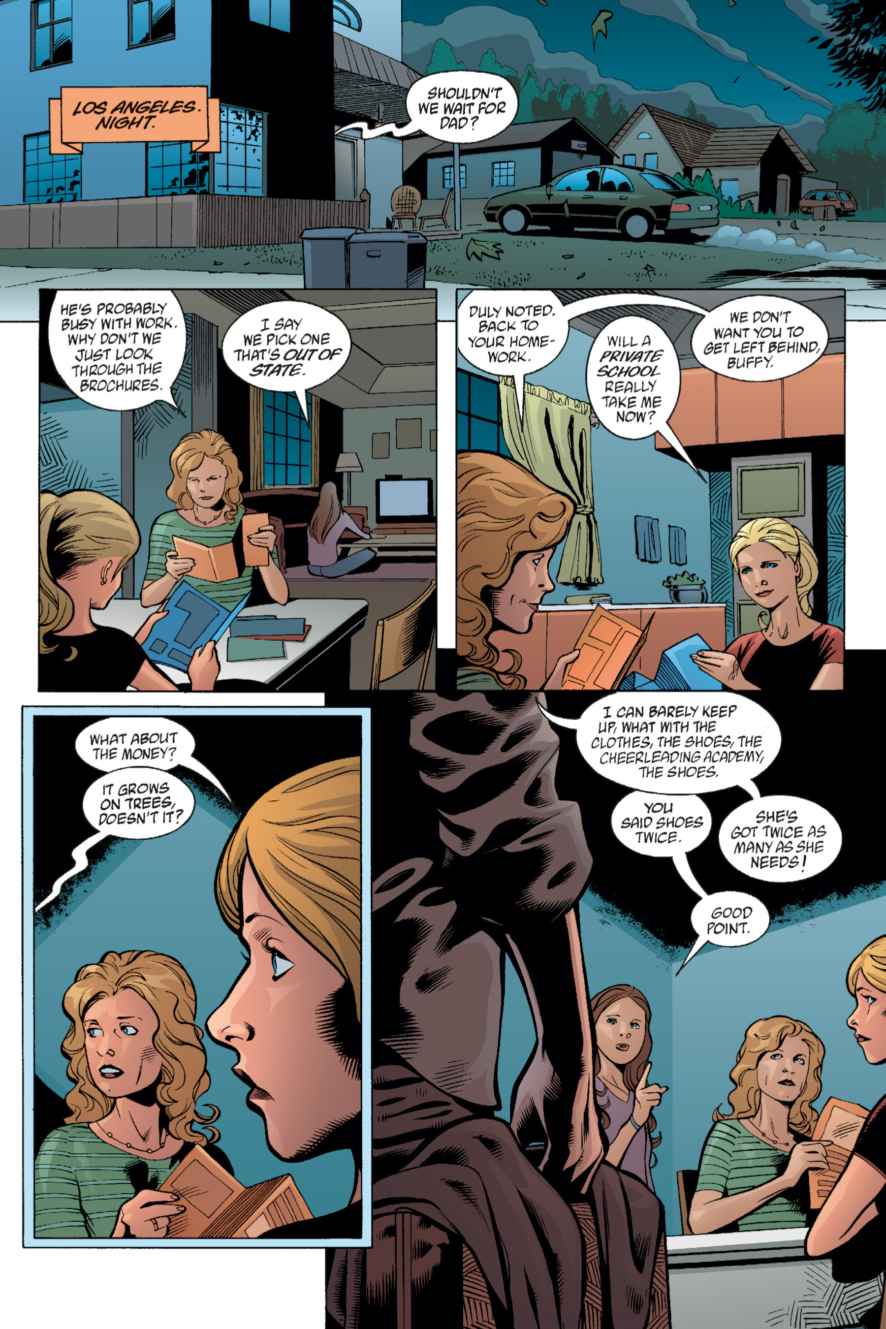 Read online Buffy the Vampire Slayer: Omnibus comic -  Issue # TPB 1 - 115