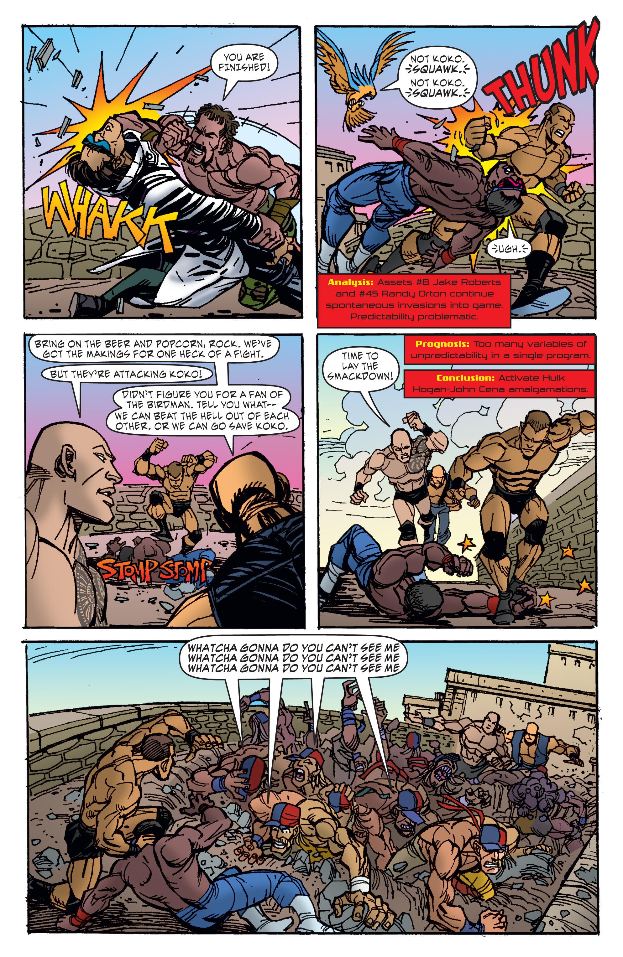 Read online WWE Superstars comic -  Issue #11 - 13