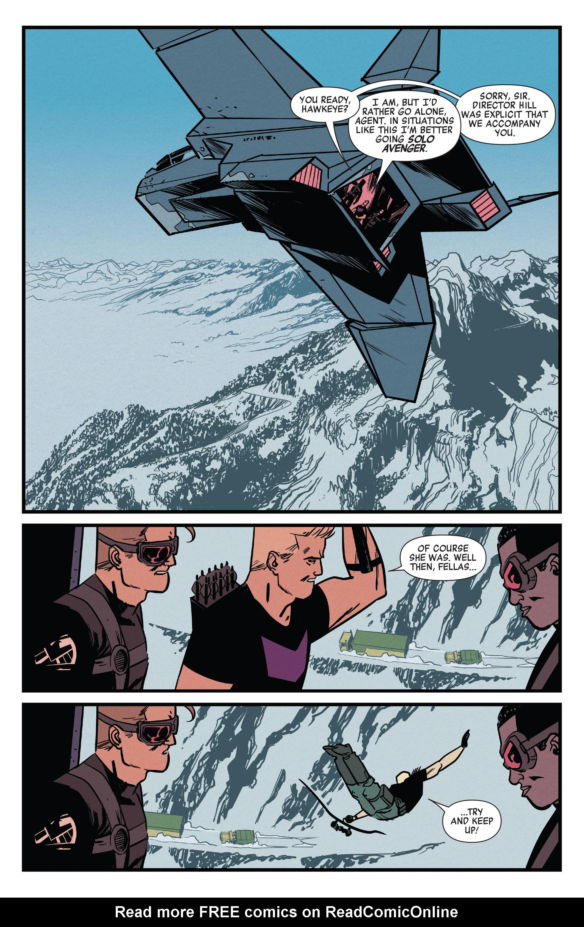 Read online All-New Hawkeye (2016) comic -  Issue #4 - 13