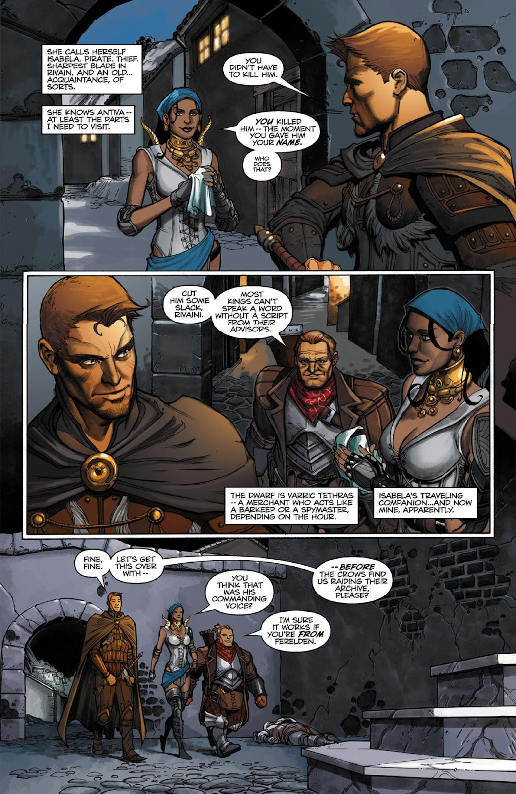 Comic Dragon Age: The Silent Grove issue 1