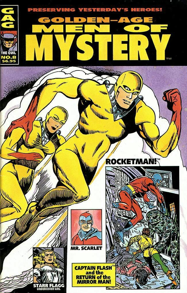 Read online Golden-Age Men of Mystery comic -  Issue #8 - 1