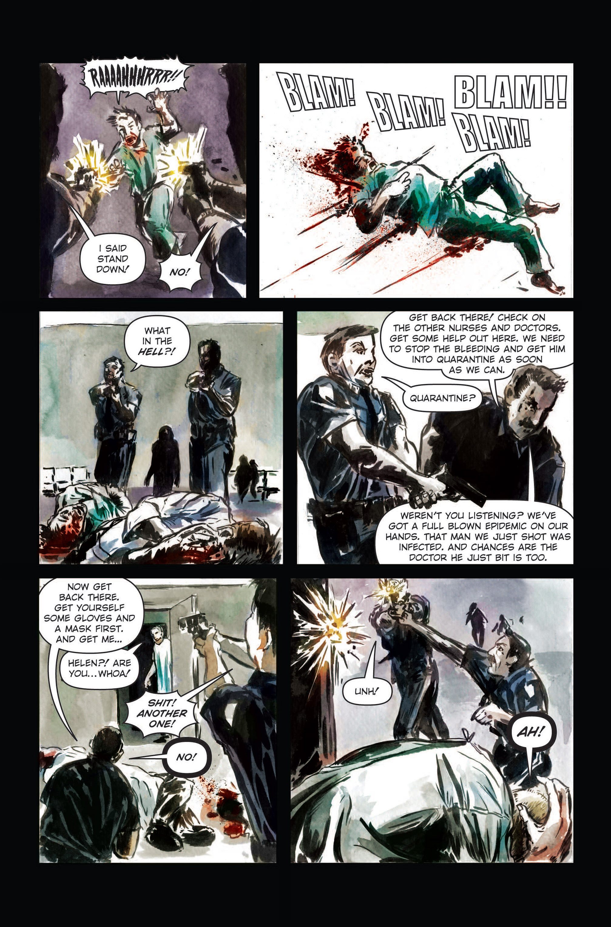 Read online The Final Plague comic -  Issue #3 - 19