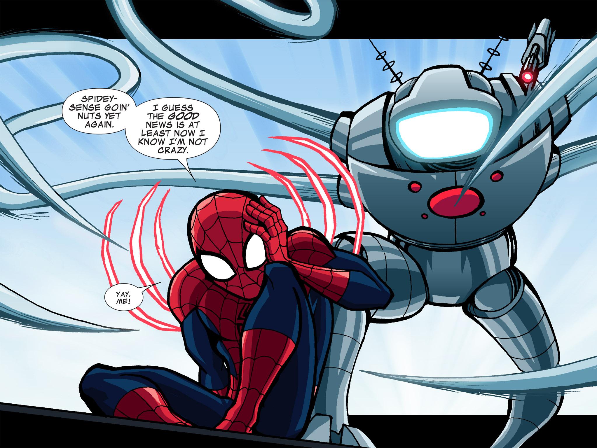 Read online Ultimate Spider-Man (Infinite Comics) (2015) comic -  Issue #1 - 46