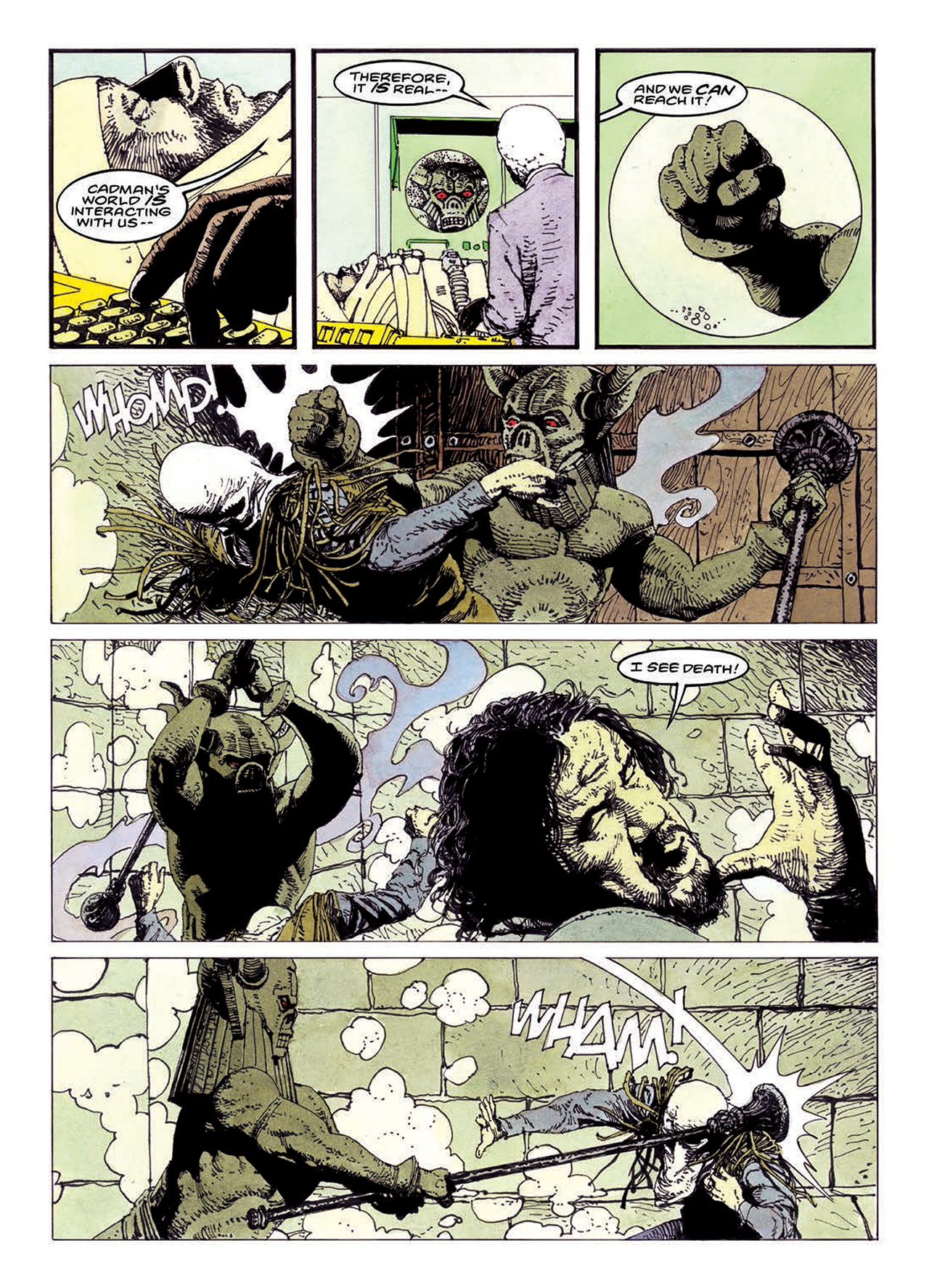 Read online Mazeworld comic -  Issue # TPB - 160