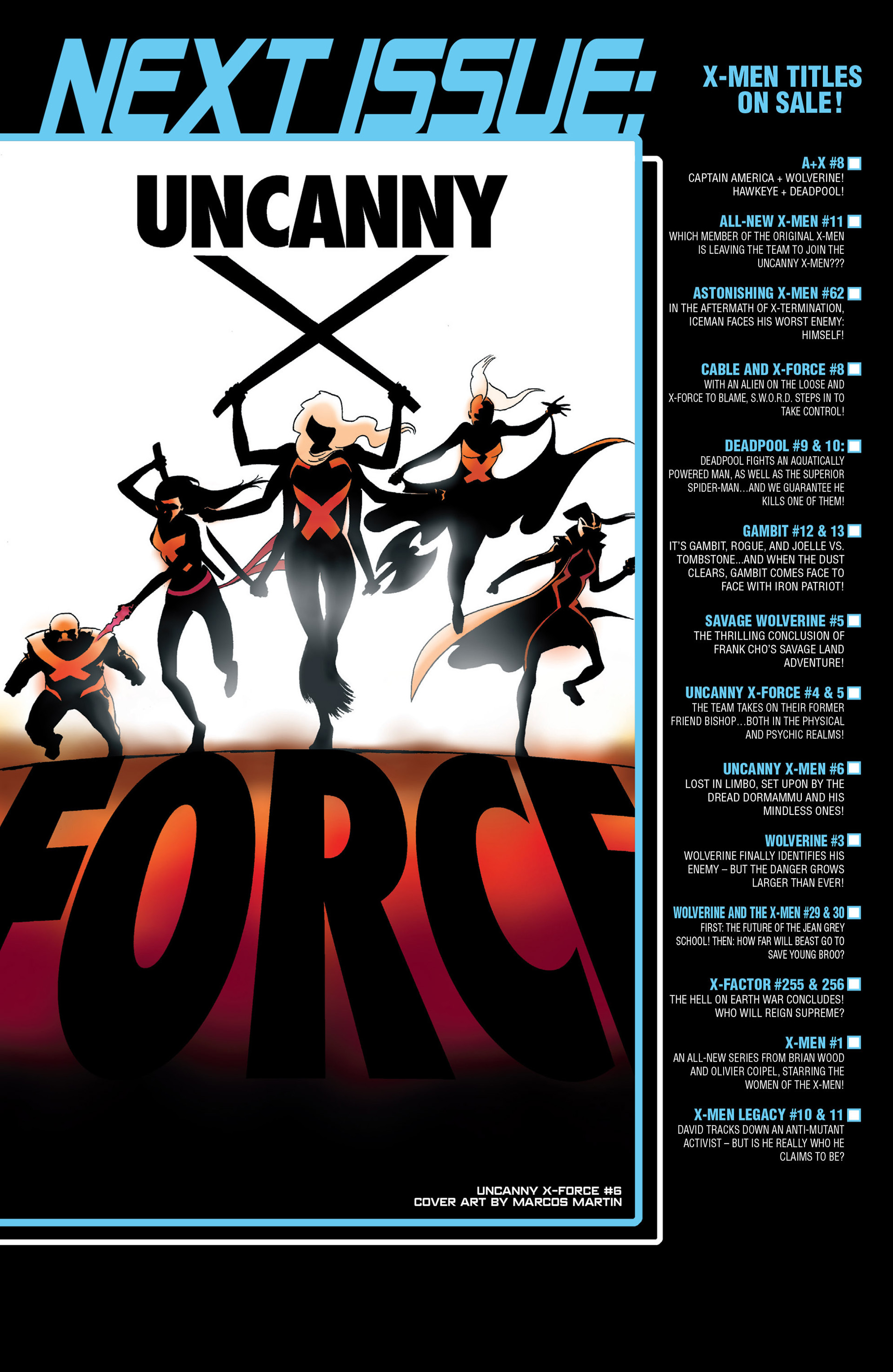 Read online Uncanny X-Force (2013) comic -  Issue #5 - 23