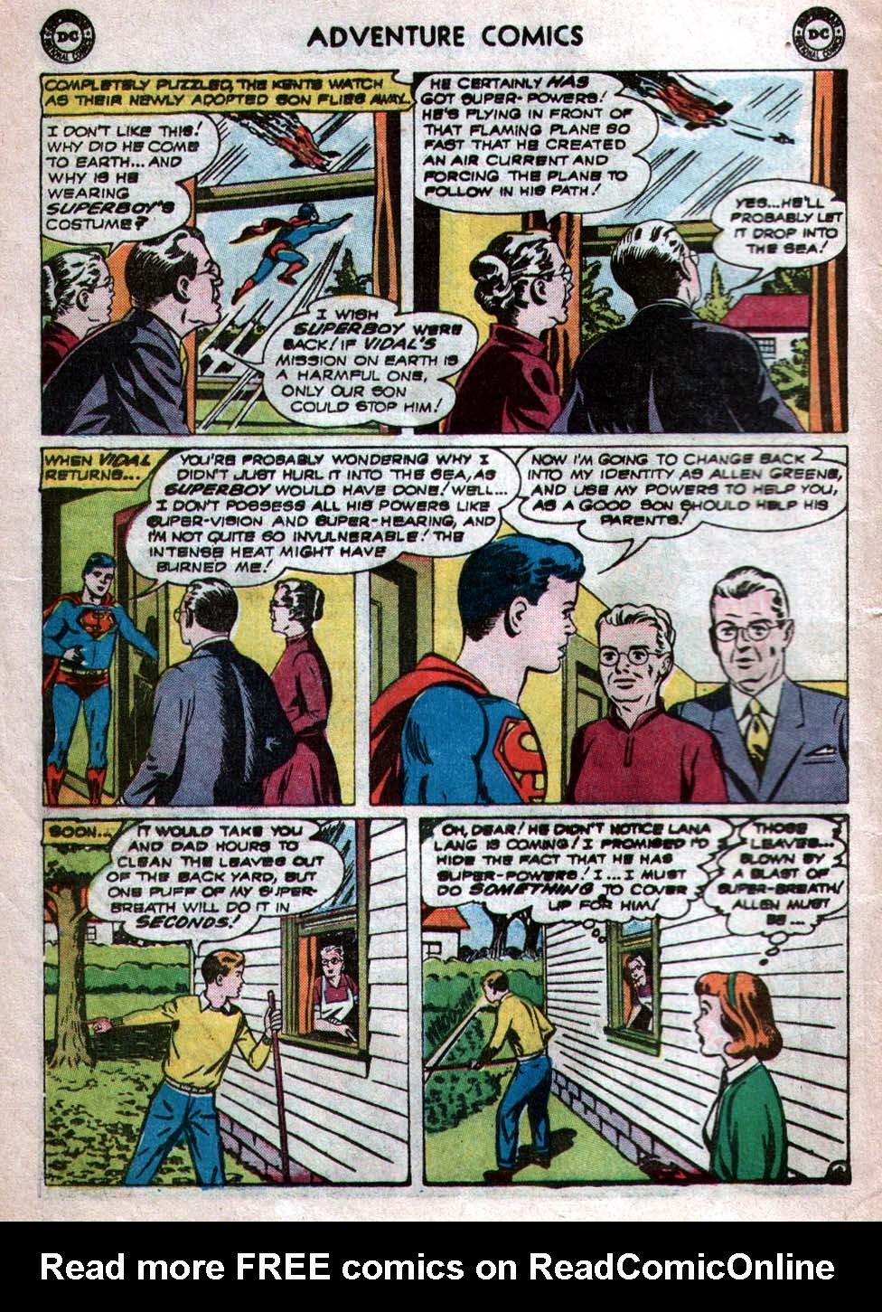 Read online Adventure Comics (1938) comic -  Issue #260 - 6