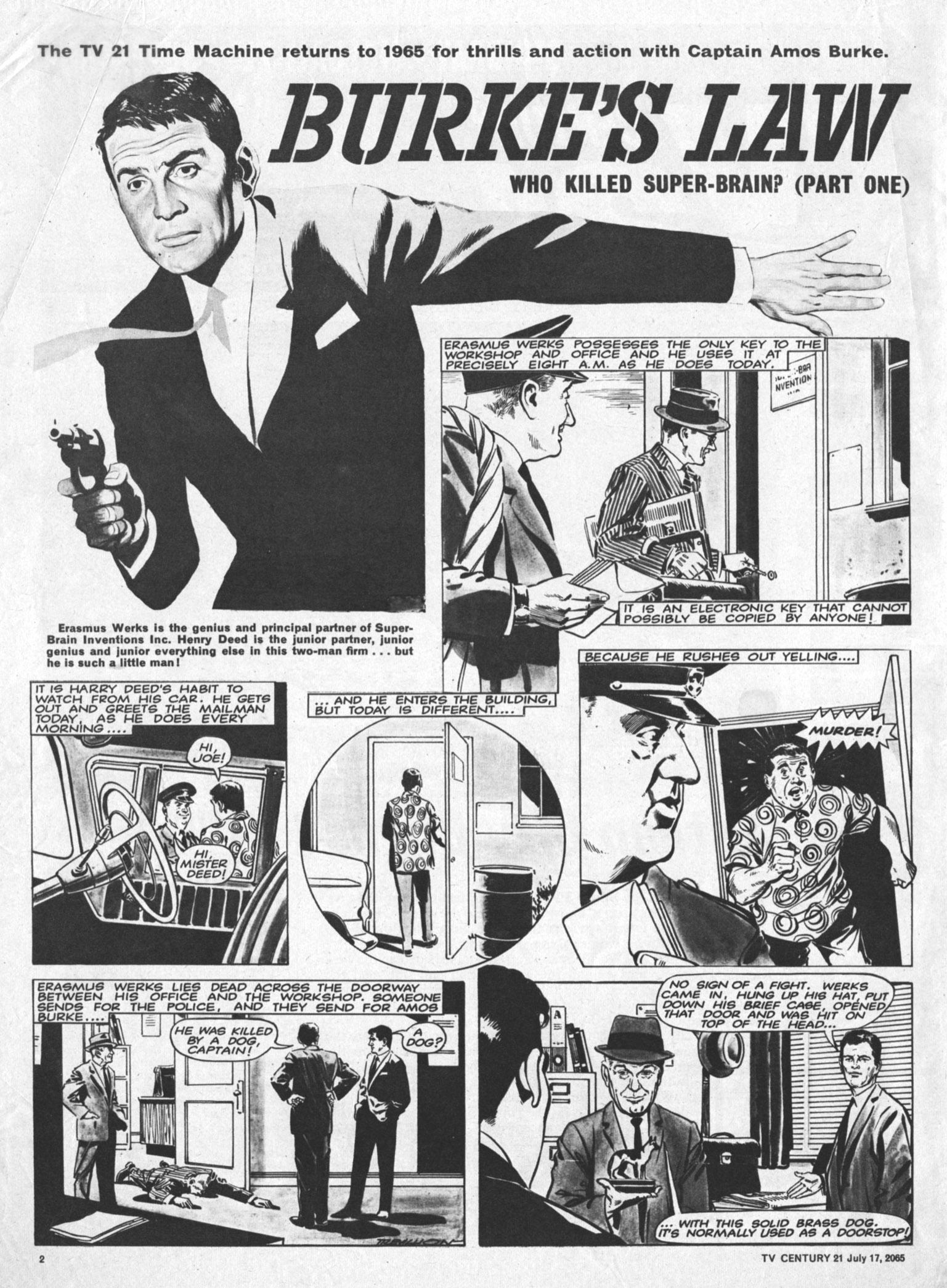 Read online TV Century 21 (TV 21) comic -  Issue #26 - 2