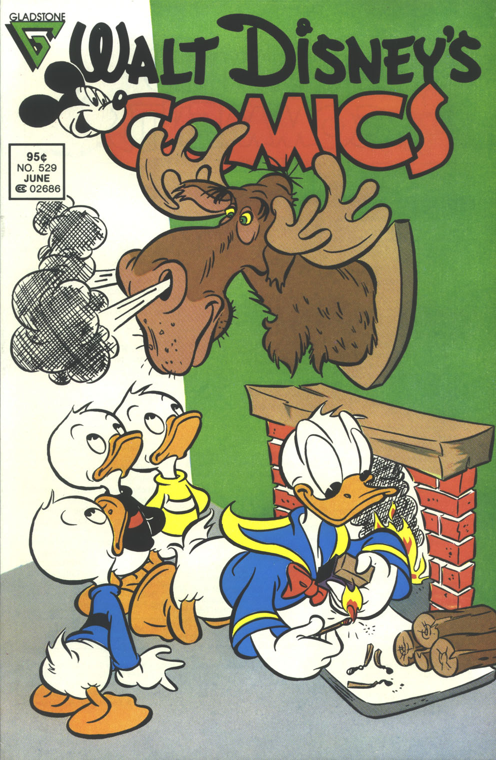 Walt Disney's Comics and Stories issue 529 - Page 1