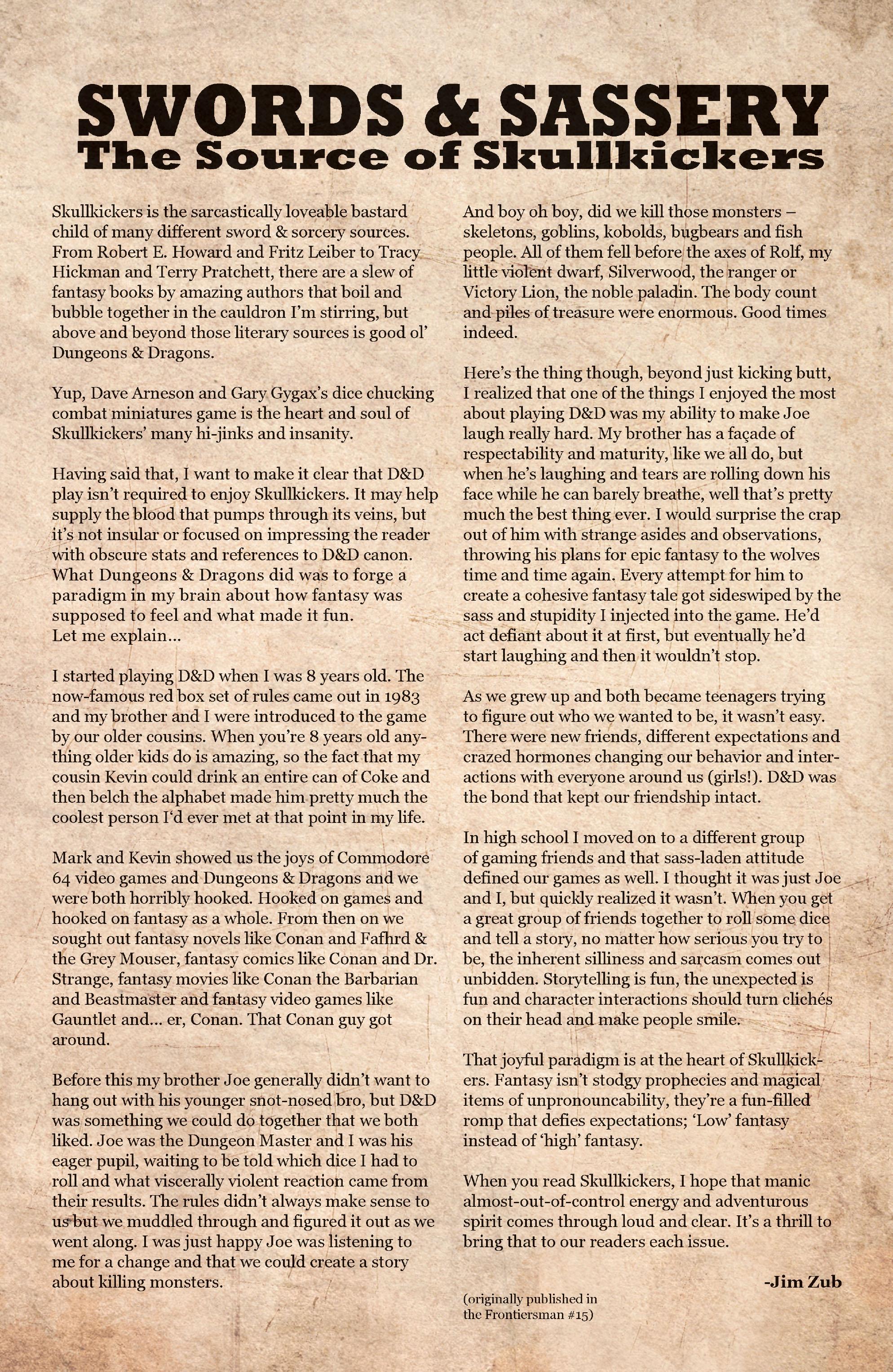 Read online Skullkickers comic -  Issue #9 - 25