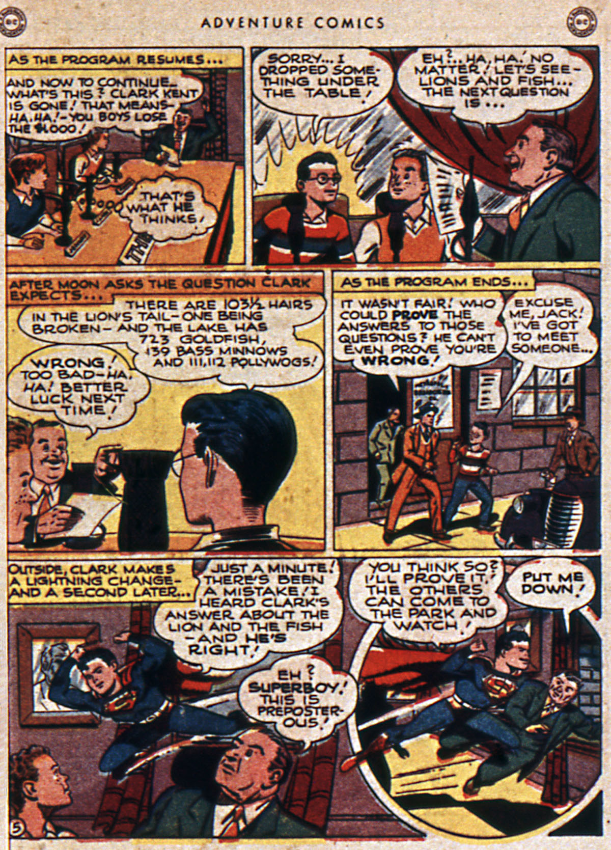 Read online Adventure Comics (1938) comic -  Issue #111 - 7