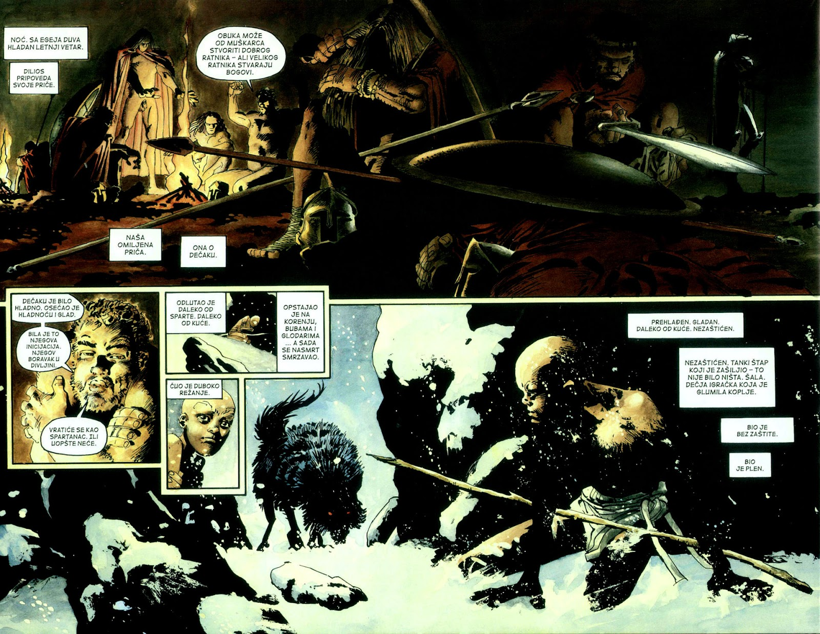 Read online 300 (2007) comic -  Issue # TPB - 13