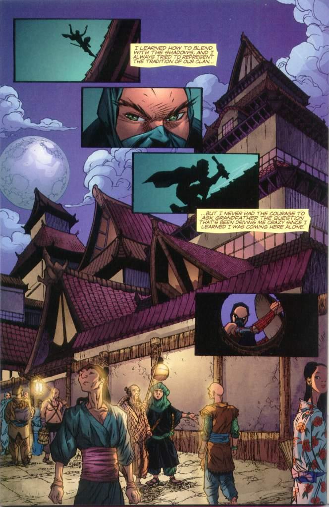 Read online Ninja Boy comic -  Issue #1 - 31
