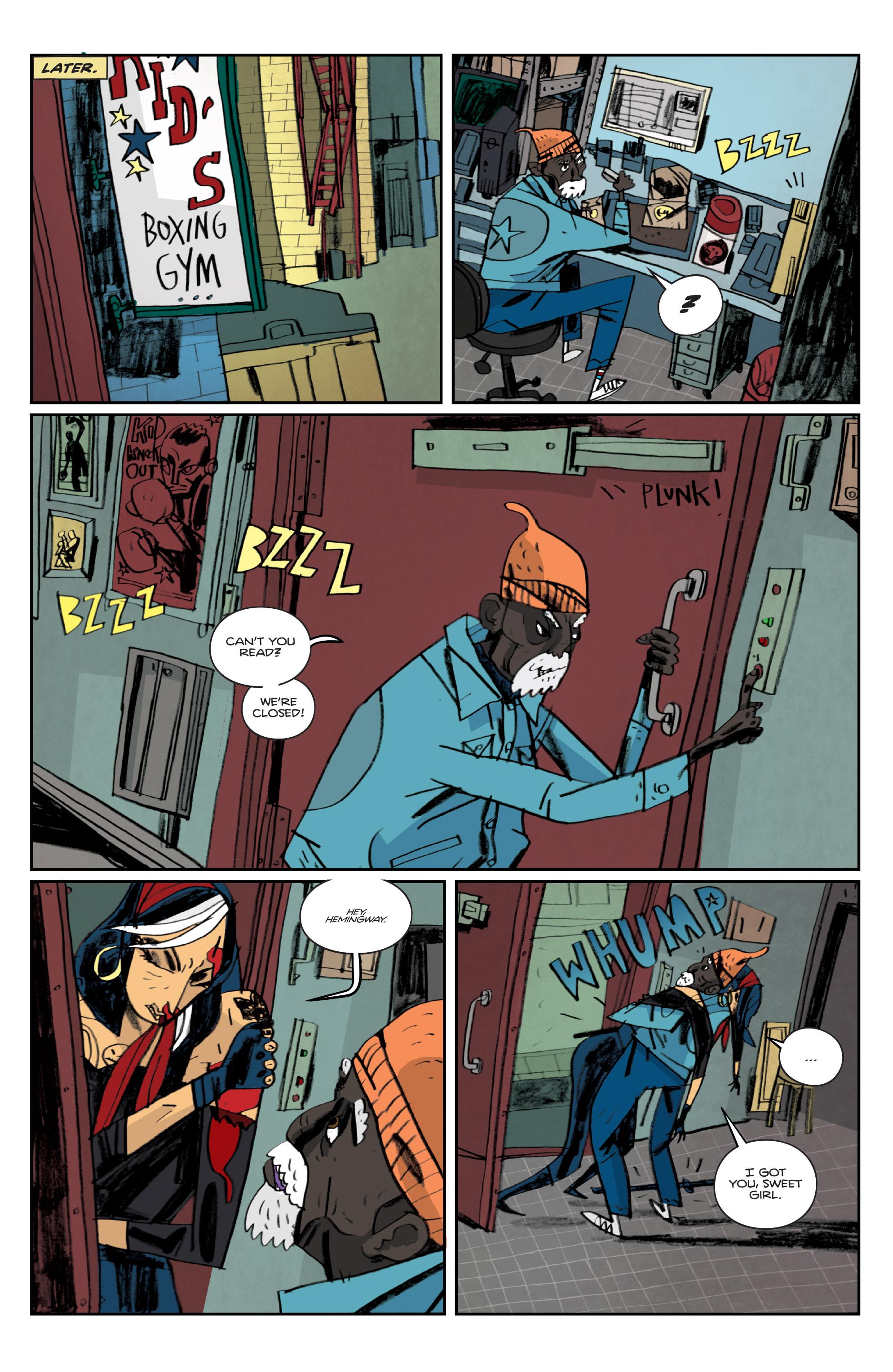 Read online Helena Crash comic -  Issue #3 - 13
