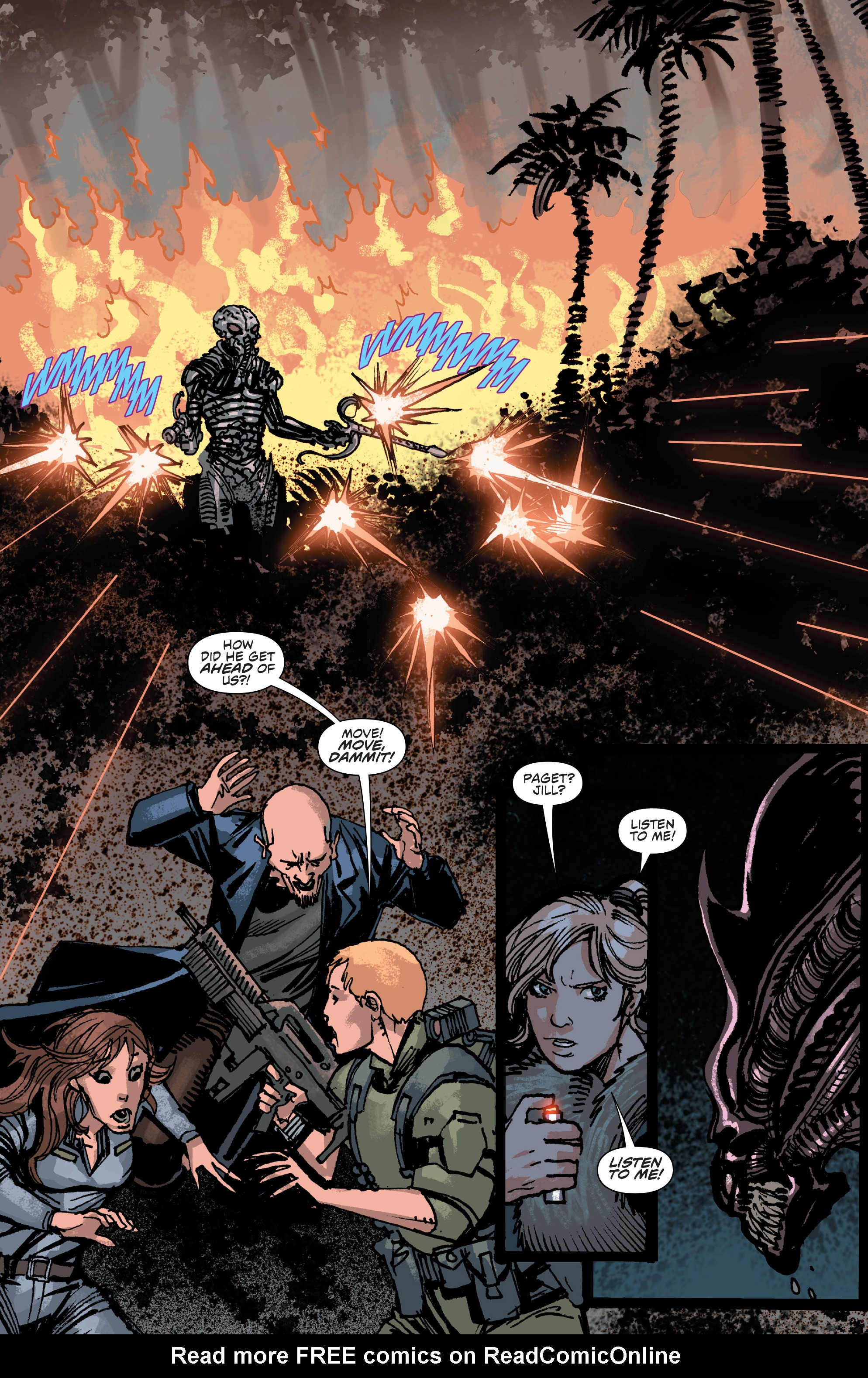 Read online Aliens: Life And Death comic -  Issue #4 - 13