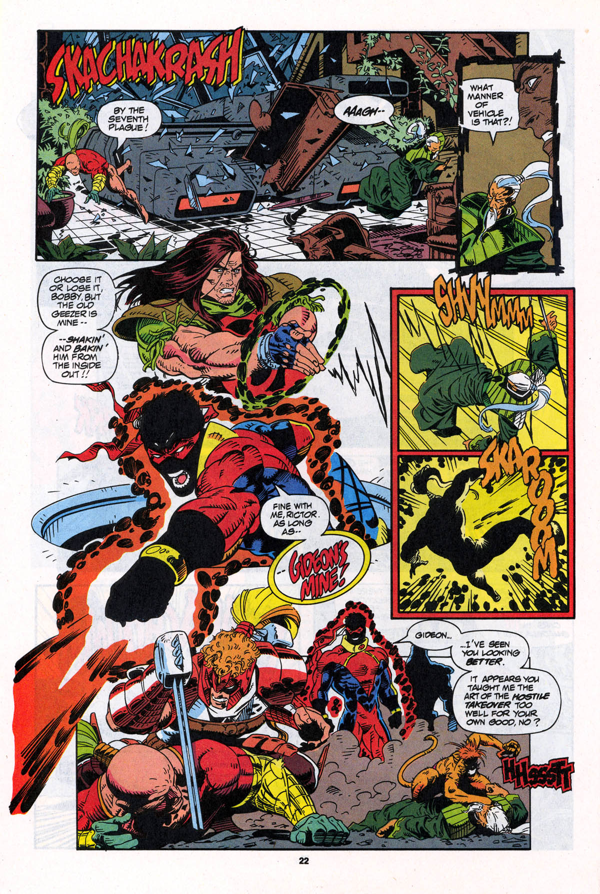 Read online X-Force (1991) comic -  Issue #23 - 22