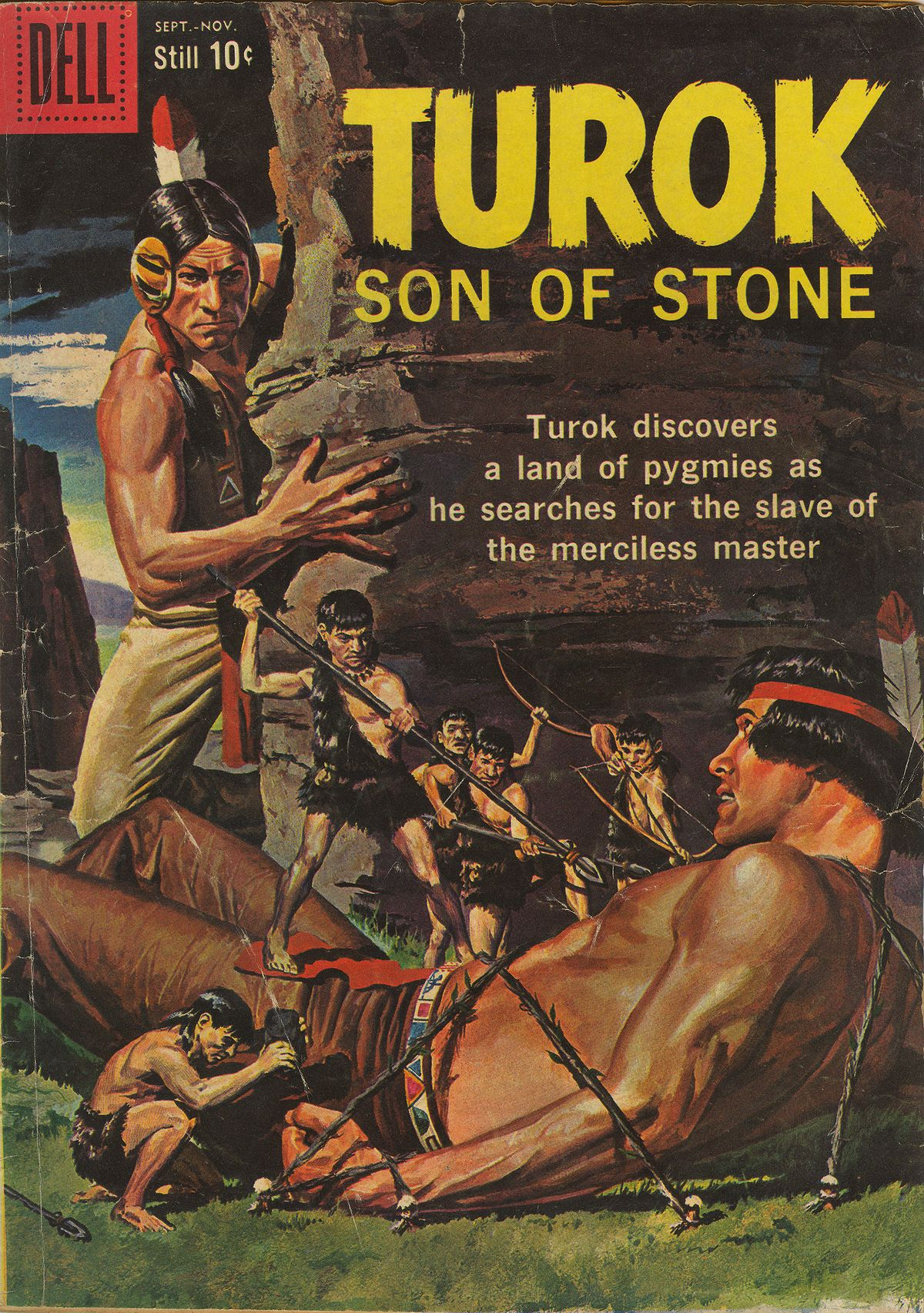 Read online Turok, Son of Stone comic -  Issue #17 - 1