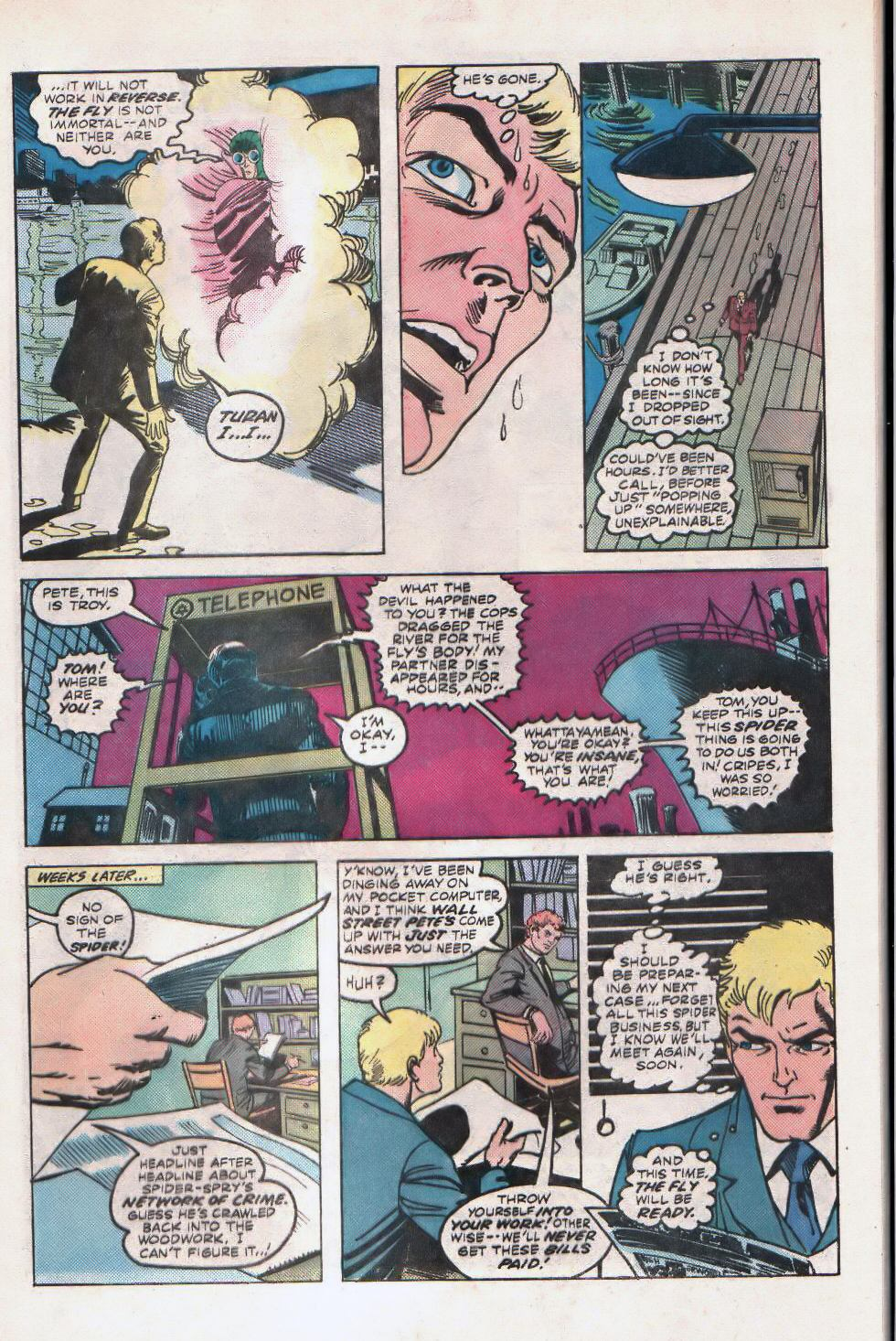 Read online The Fly (1983) comic -  Issue #2 - 5