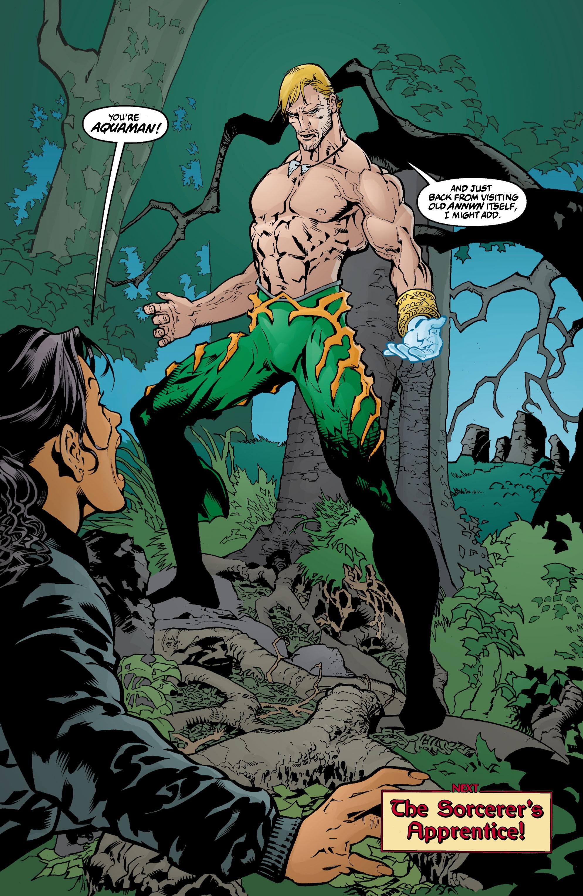 Read online Aquaman (2003) comic -  Issue #3 - 22