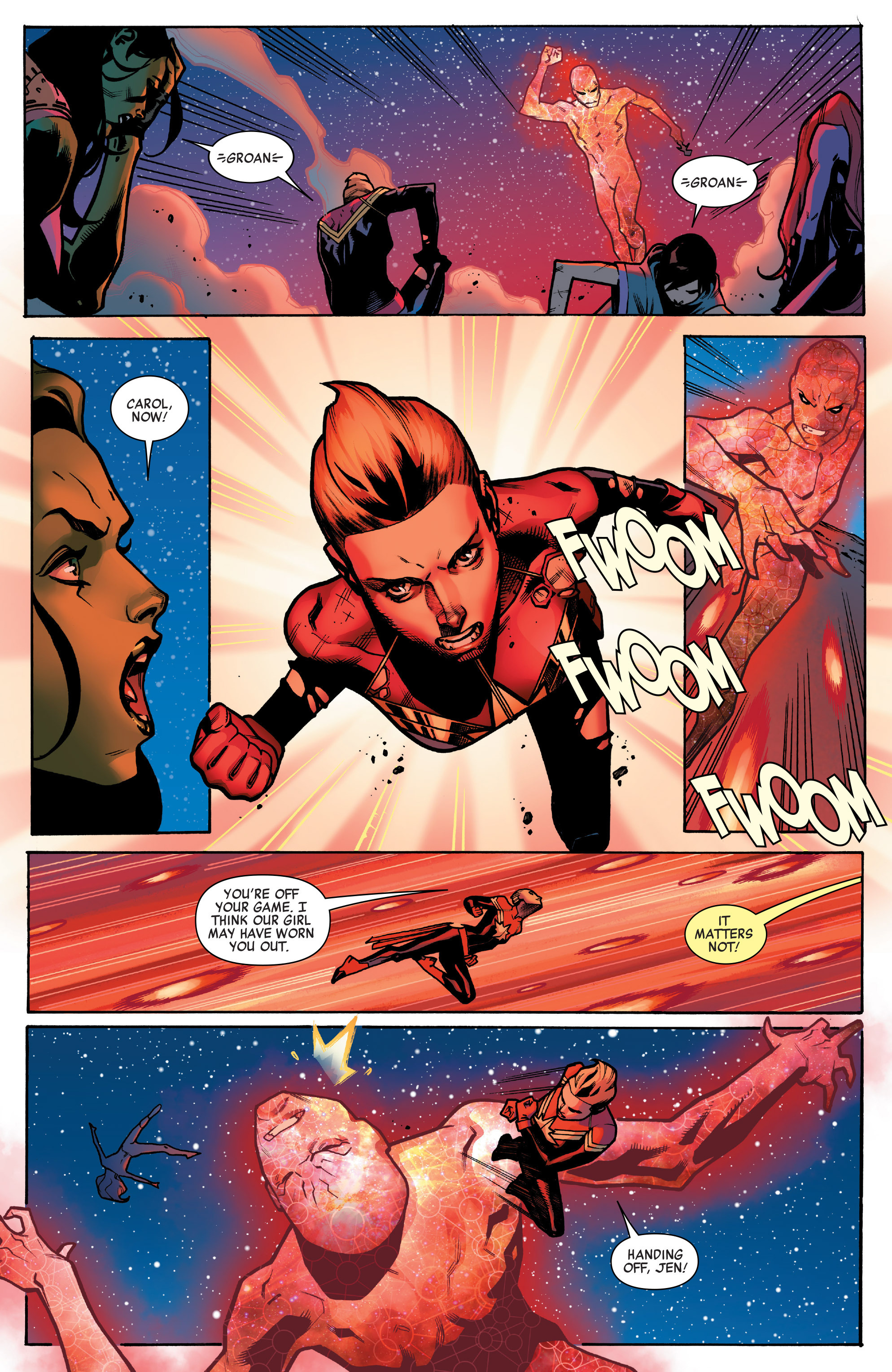 Read online A-Force (2016) comic -  Issue #4 - 9